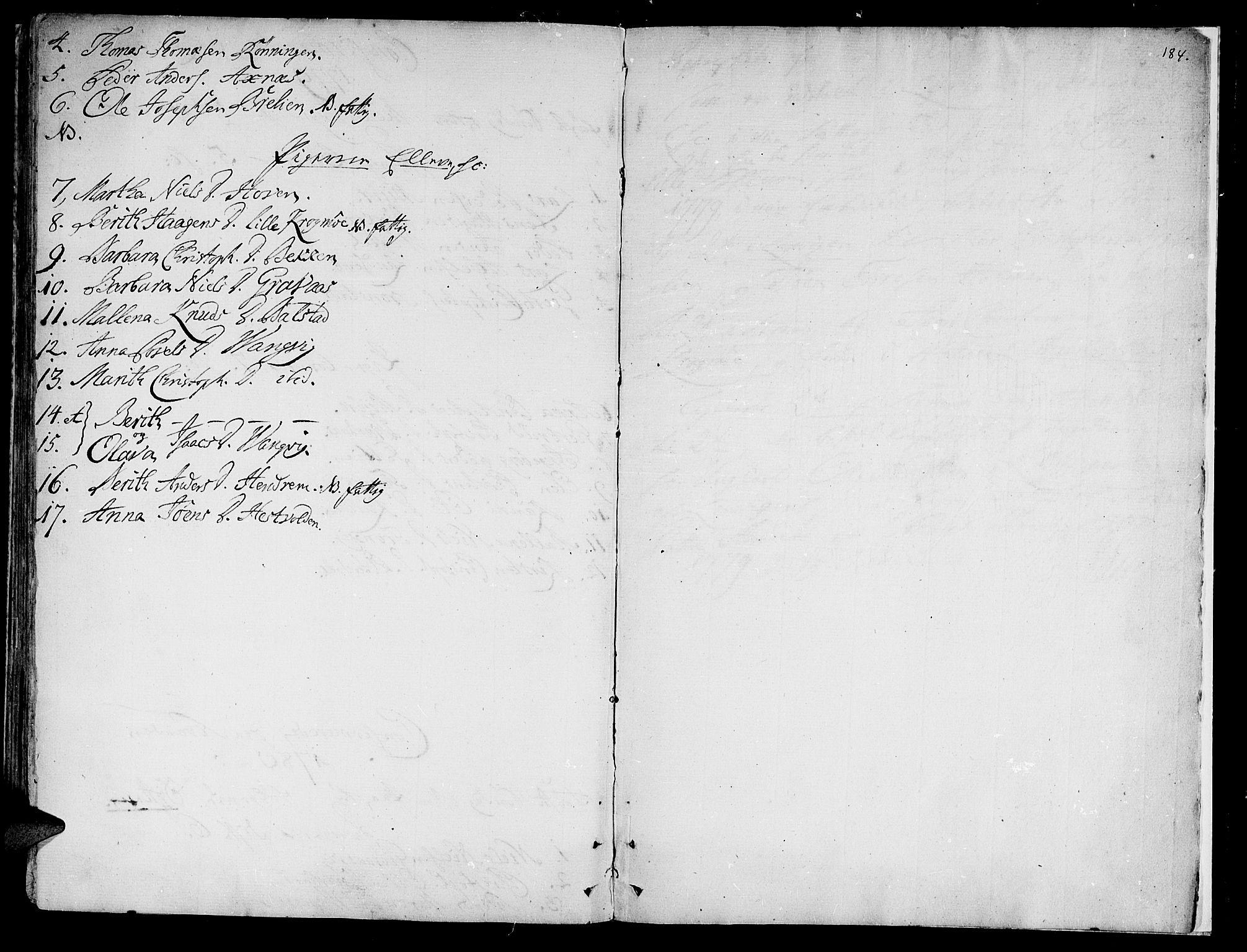 SAT, Ministerialprotokoller, klokkerbøker og fødselsregistre - Nord-Trøndelag, 701/L0003: Ministerialbok nr. 701A03, 1751-1783, s. 184