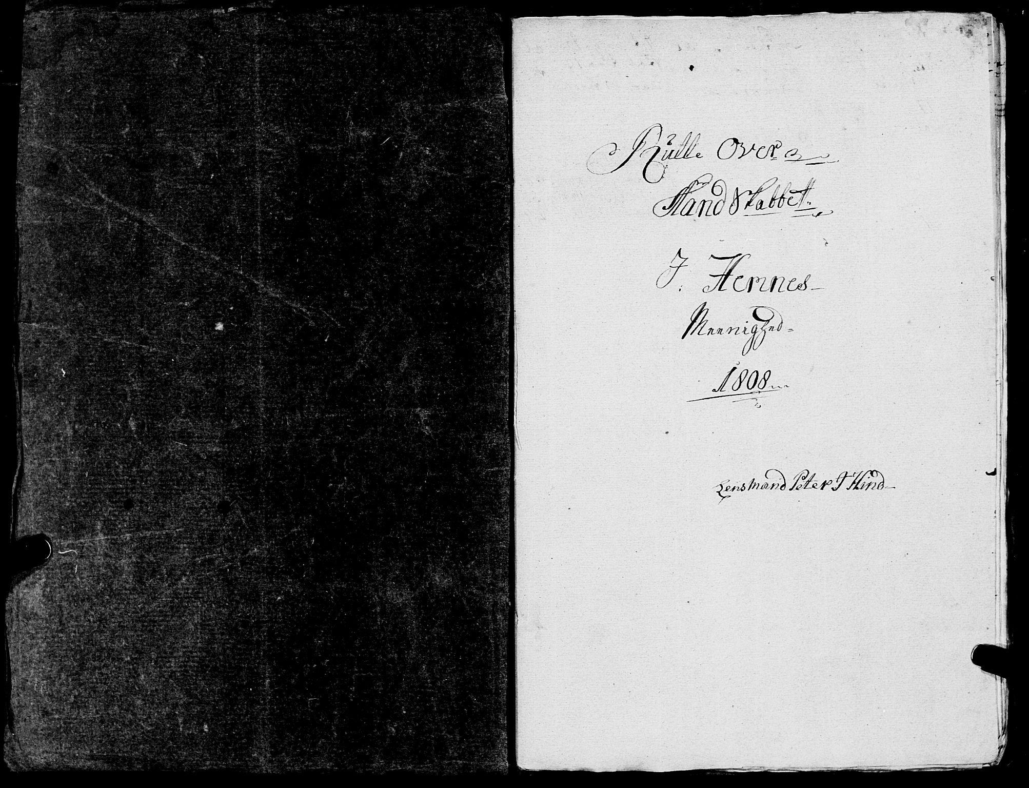 SAT, Fylkesmannen i Nordland, R/RA/L0013: Innrulleringsmanntall for Hemnes (Sør-Rana), 1809-1835, s. 3