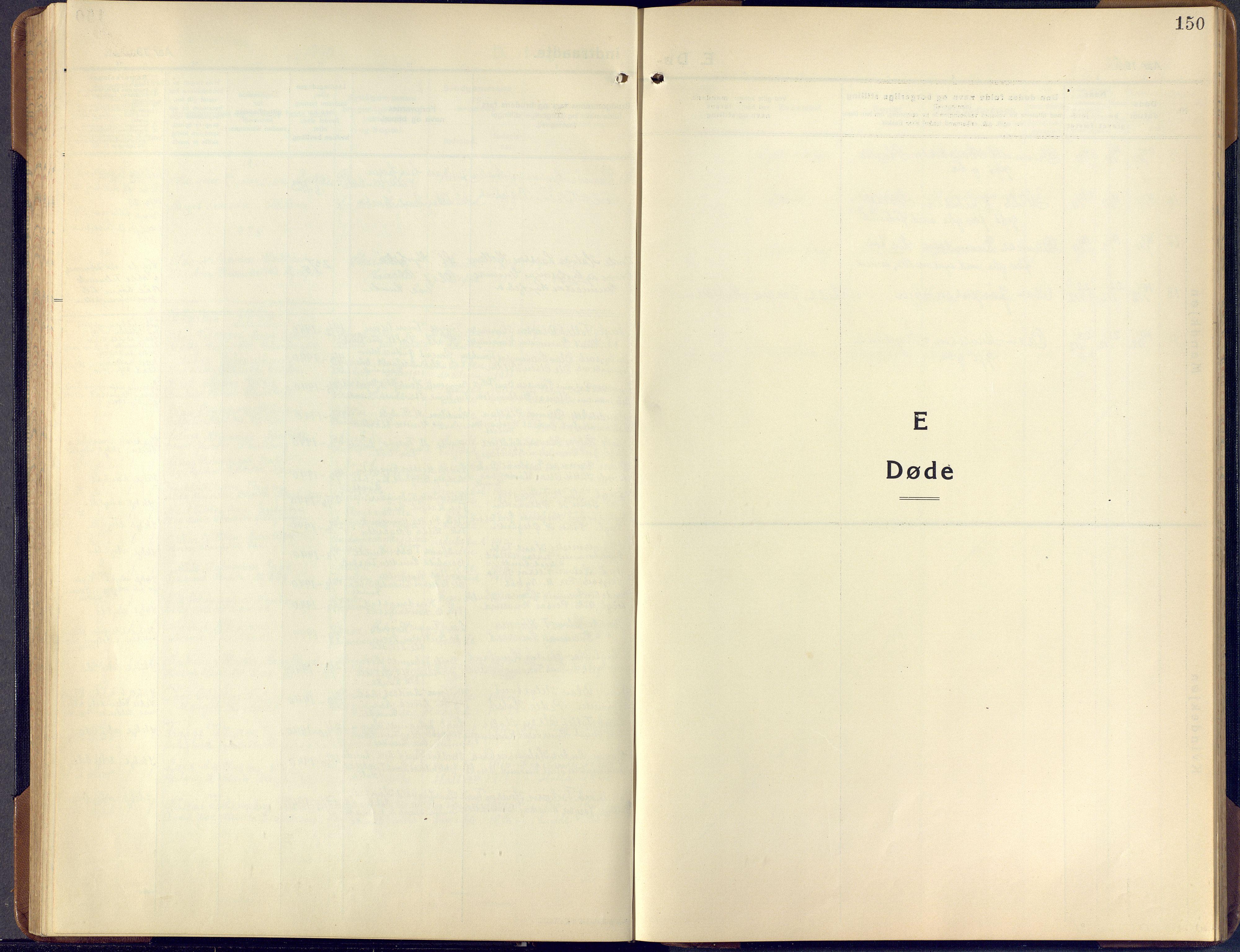 SAKO, Lunde kirkebøker, F/Fa/L0006: Ministerialbok nr. I 6, 1922-1940, s. 150
