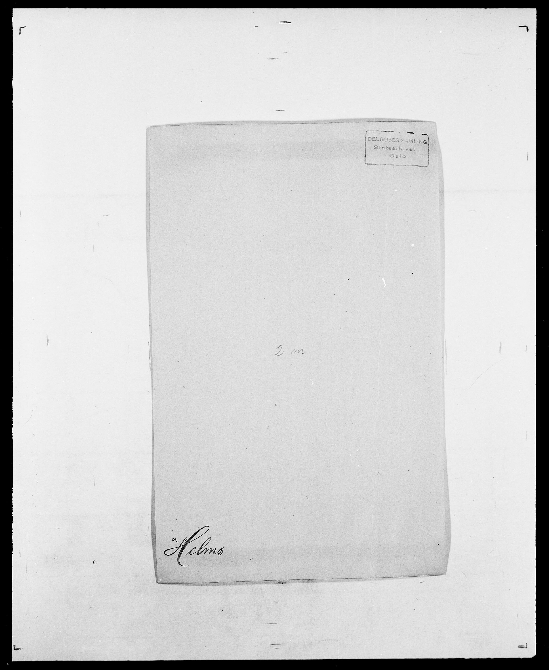 SAO, Delgobe, Charles Antoine - samling, D/Da/L0017: Helander - Hjørne, s. 100