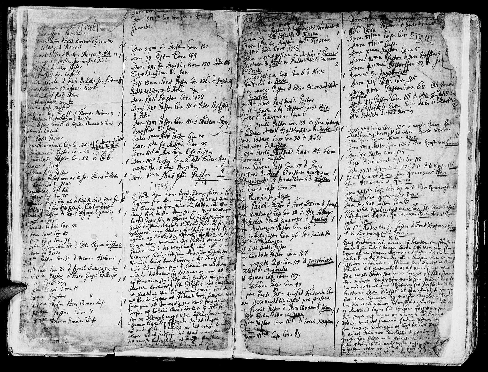 SAT, Ministerialprotokoller, klokkerbøker og fødselsregistre - Sør-Trøndelag, 691/L1061: Ministerialbok nr. 691A02 /1, 1768-1815, s. 11