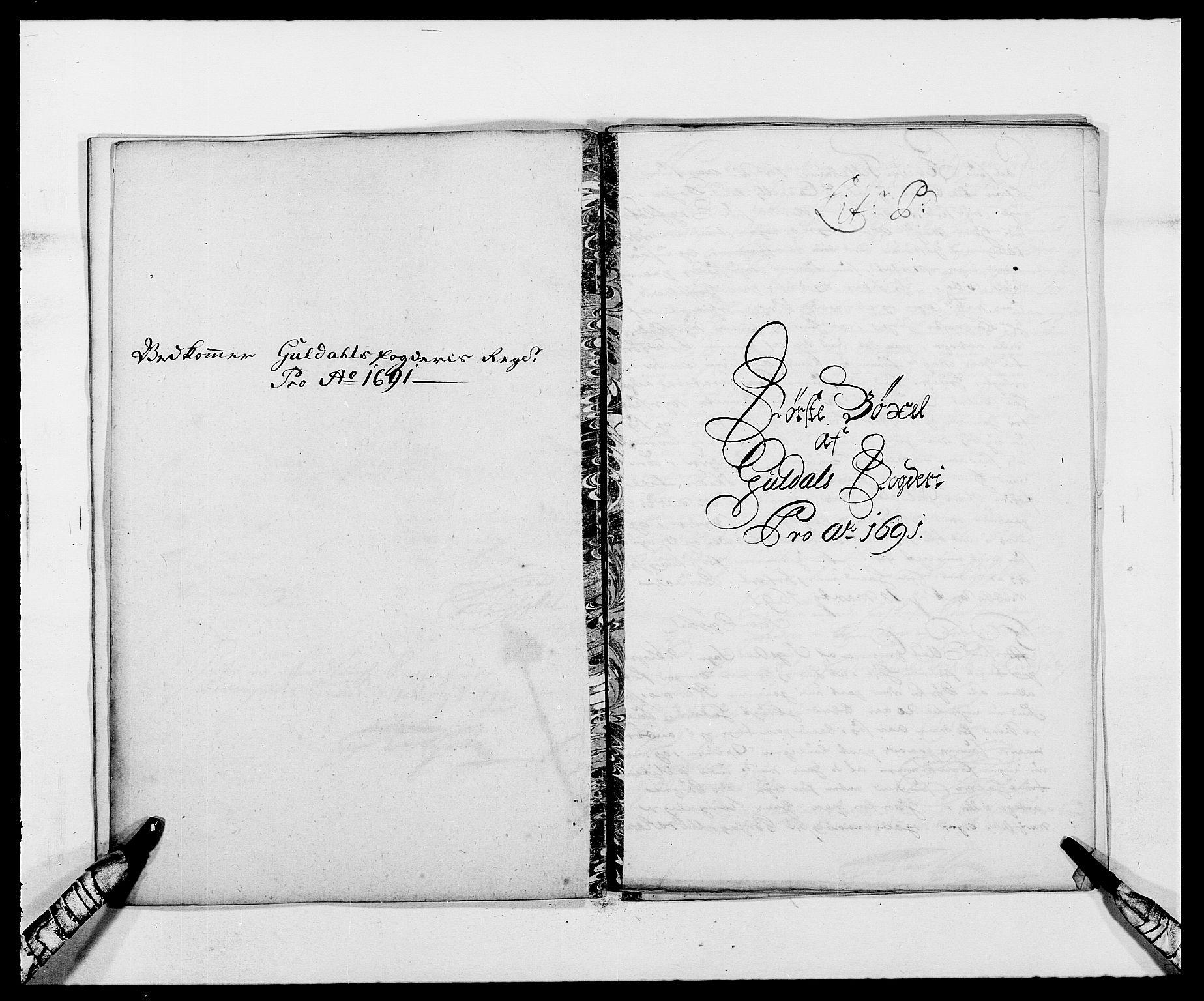 RA, Rentekammeret inntil 1814, Reviderte regnskaper, Fogderegnskap, R59/L3941: Fogderegnskap Gauldal, 1691, s. 147
