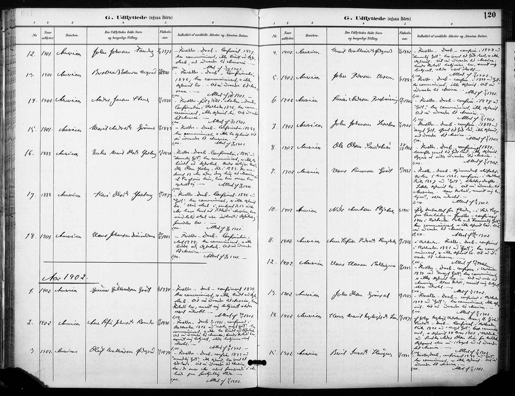 SAT, Ministerialprotokoller, klokkerbøker og fødselsregistre - Sør-Trøndelag, 685/L0973: Ministerialbok nr. 685A10, 1891-1907, s. 120