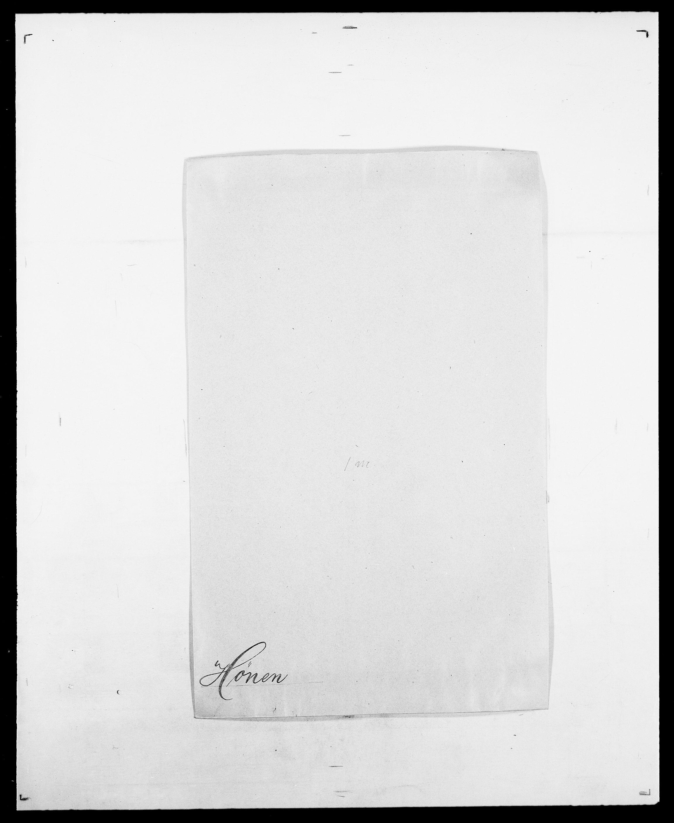 SAO, Delgobe, Charles Antoine - samling, D/Da/L0019: van der Hude - Joys, s. 360