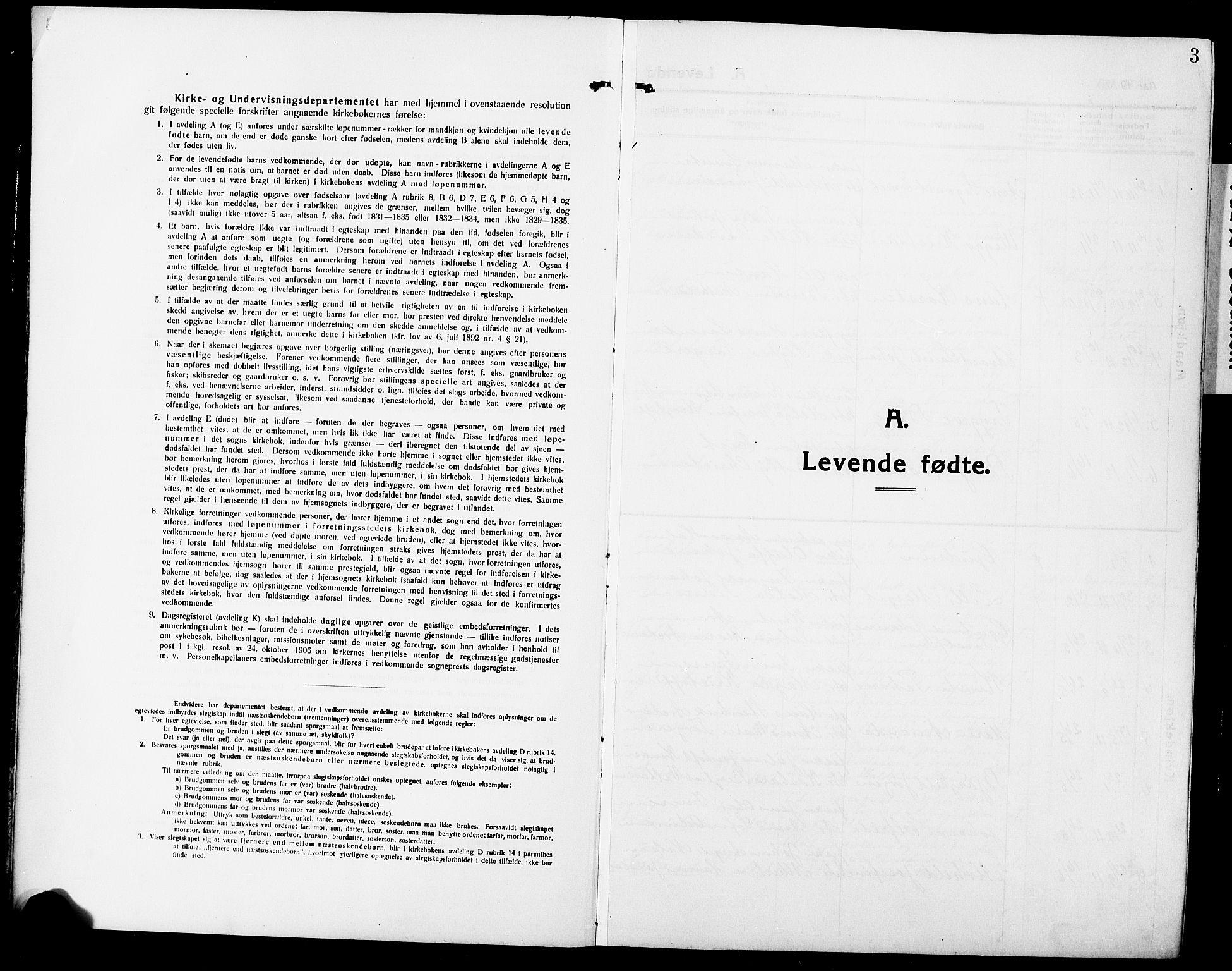 SAT, Ministerialprotokoller, klokkerbøker og fødselsregistre - Nordland, 881/L1169: Klokkerbok nr. 881C06, 1912-1930, s. 3