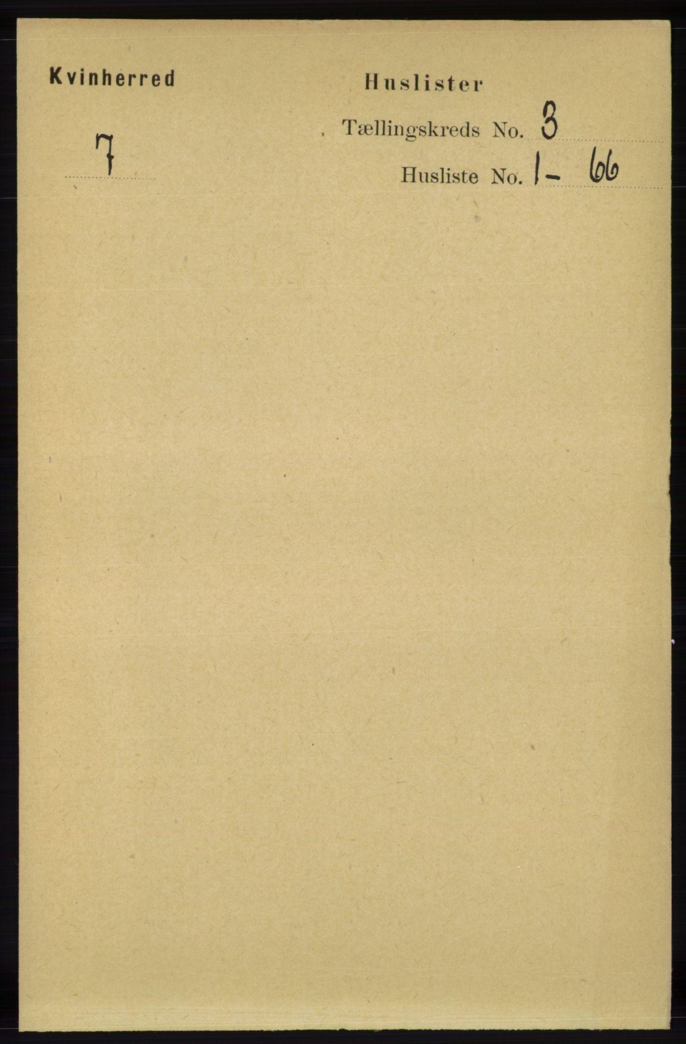 RA, Folketelling 1891 for 1224 Kvinnherad herred, 1891, s. 821