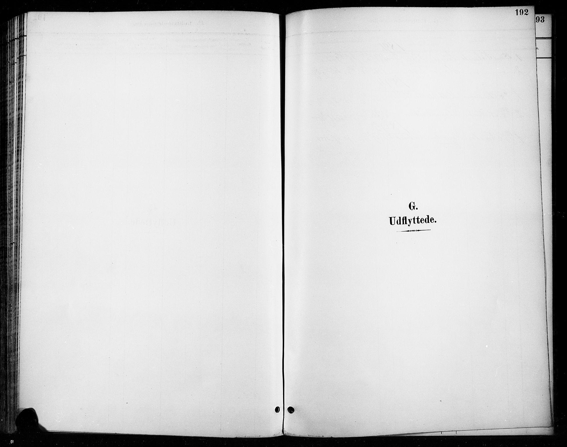 SAH, Vardal prestekontor, H/Ha/Haa/L0011: Ministerialbok nr. 11, 1891-1901, s. 192