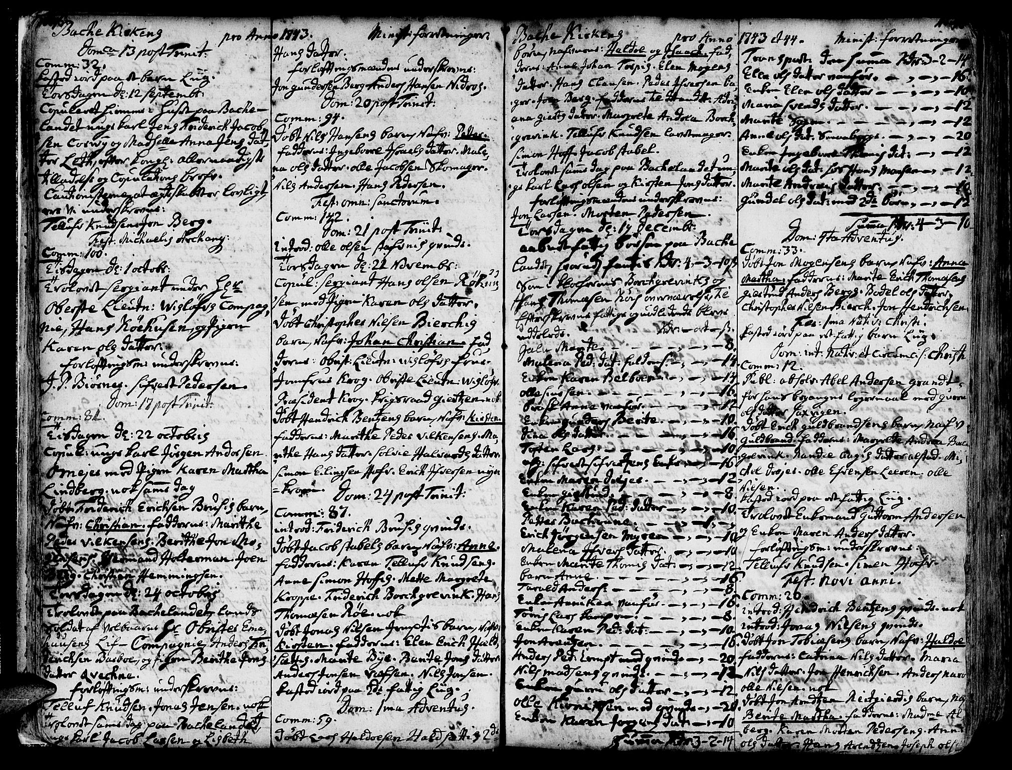 SAT, Ministerialprotokoller, klokkerbøker og fødselsregistre - Sør-Trøndelag, 606/L0276: Ministerialbok nr. 606A01 /2, 1727-1779, s. 46-47