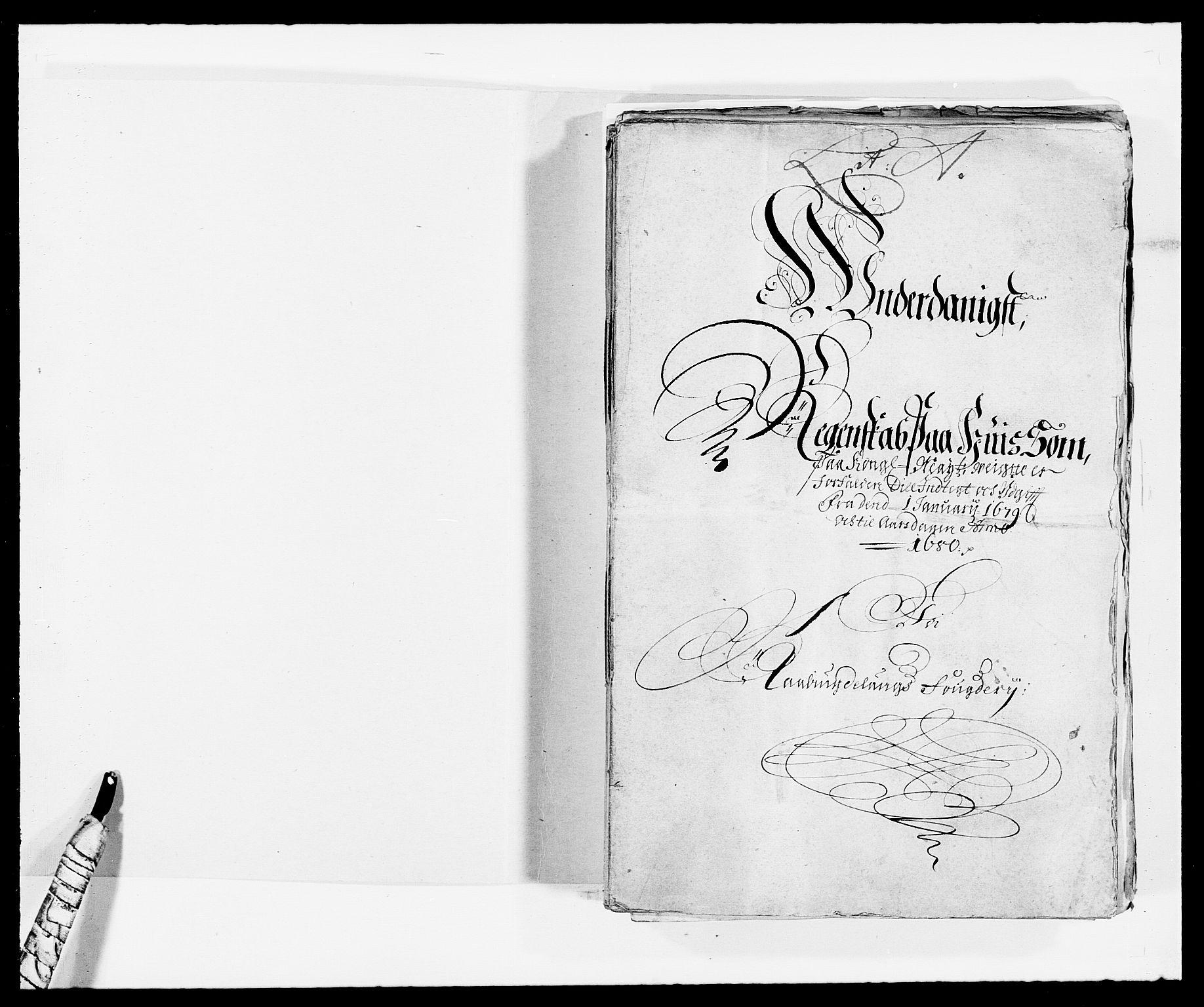 RA, Rentekammeret inntil 1814, Reviderte regnskaper, Fogderegnskap, R40/L2436: Fogderegnskap Råbyggelag, 1679-1680, s. 2