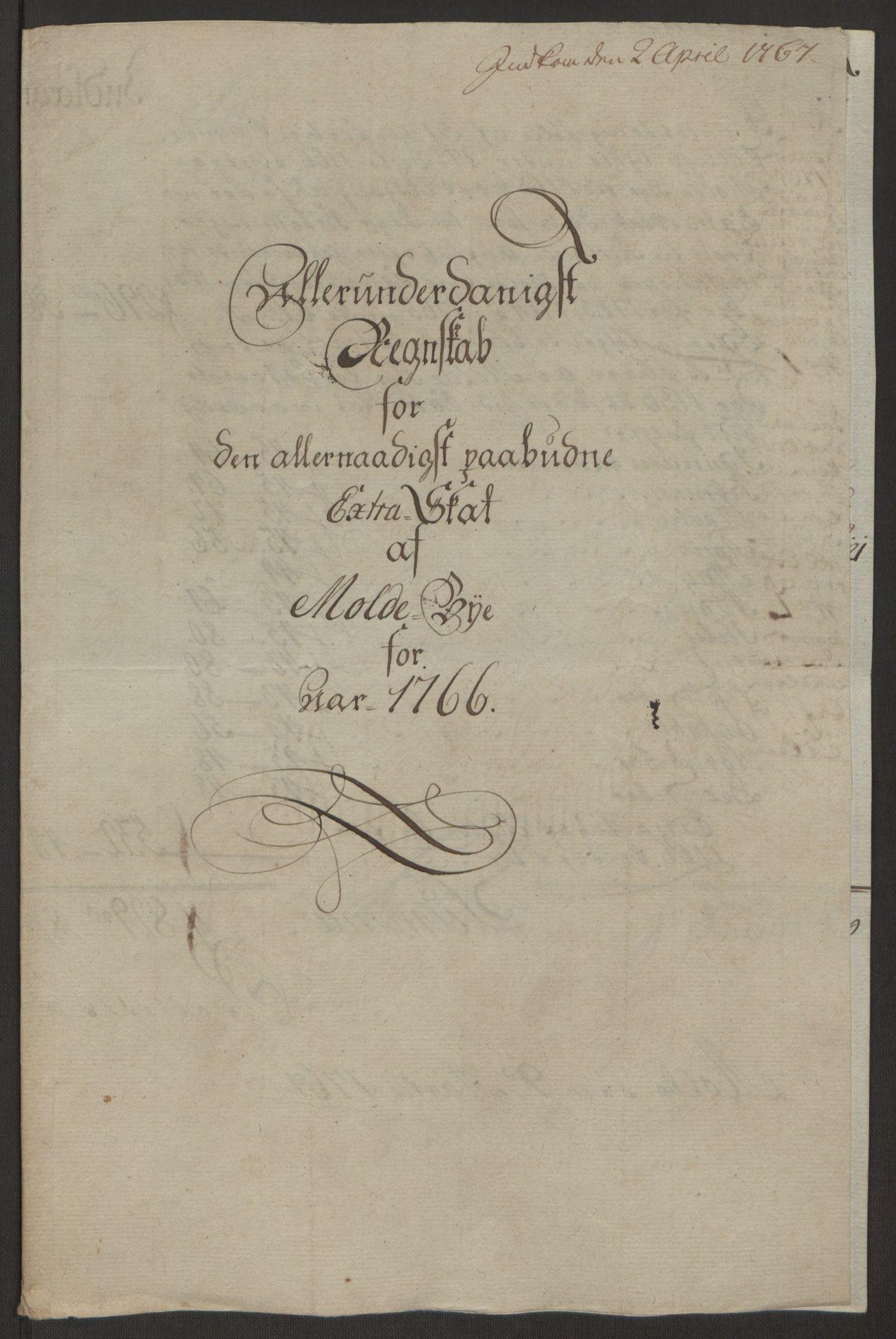 RA, Rentekammeret inntil 1814, Reviderte regnskaper, Byregnskaper, R/Rq/L0487: [Q1] Kontribusjonsregnskap, 1762-1772, s. 125