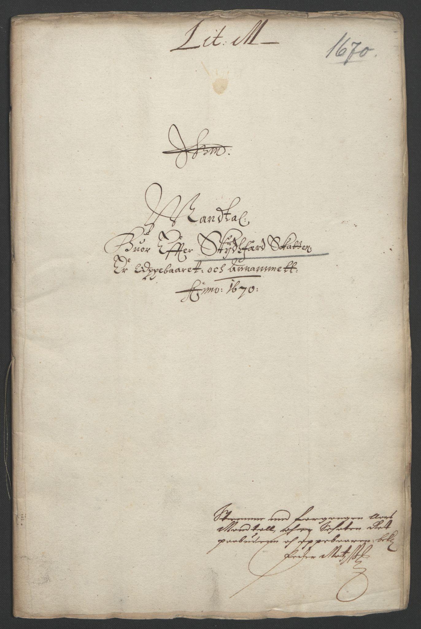RA, Rentekammeret inntil 1814, Reviderte regnskaper, Fogderegnskap, R33/L1965: Fogderegnskap Larvik grevskap, 1669-1670, s. 145