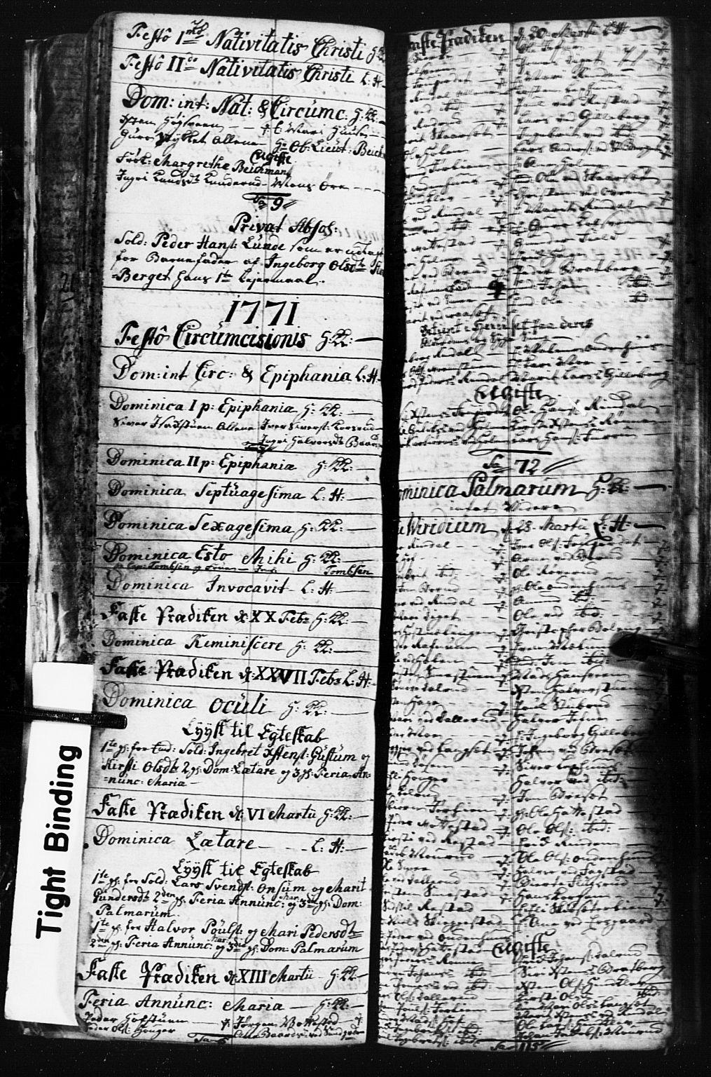 SAH, Fåberg prestekontor, Klokkerbok nr. 3, 1768-1796, s. 70-71