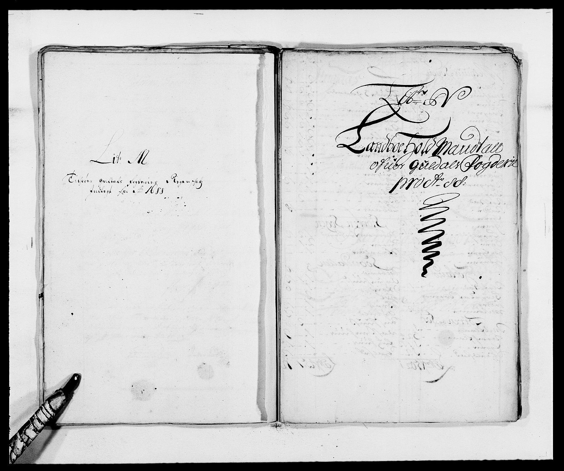 RA, Rentekammeret inntil 1814, Reviderte regnskaper, Fogderegnskap, R59/L3939: Fogderegnskap Gauldal, 1687-1688, s. 275