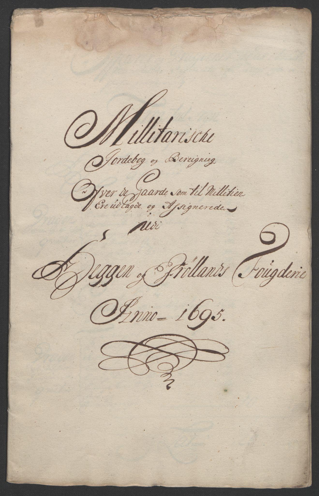 RA, Rentekammeret inntil 1814, Reviderte regnskaper, Fogderegnskap, R07/L0285: Fogderegnskap Rakkestad, Heggen og Frøland, 1695, s. 275