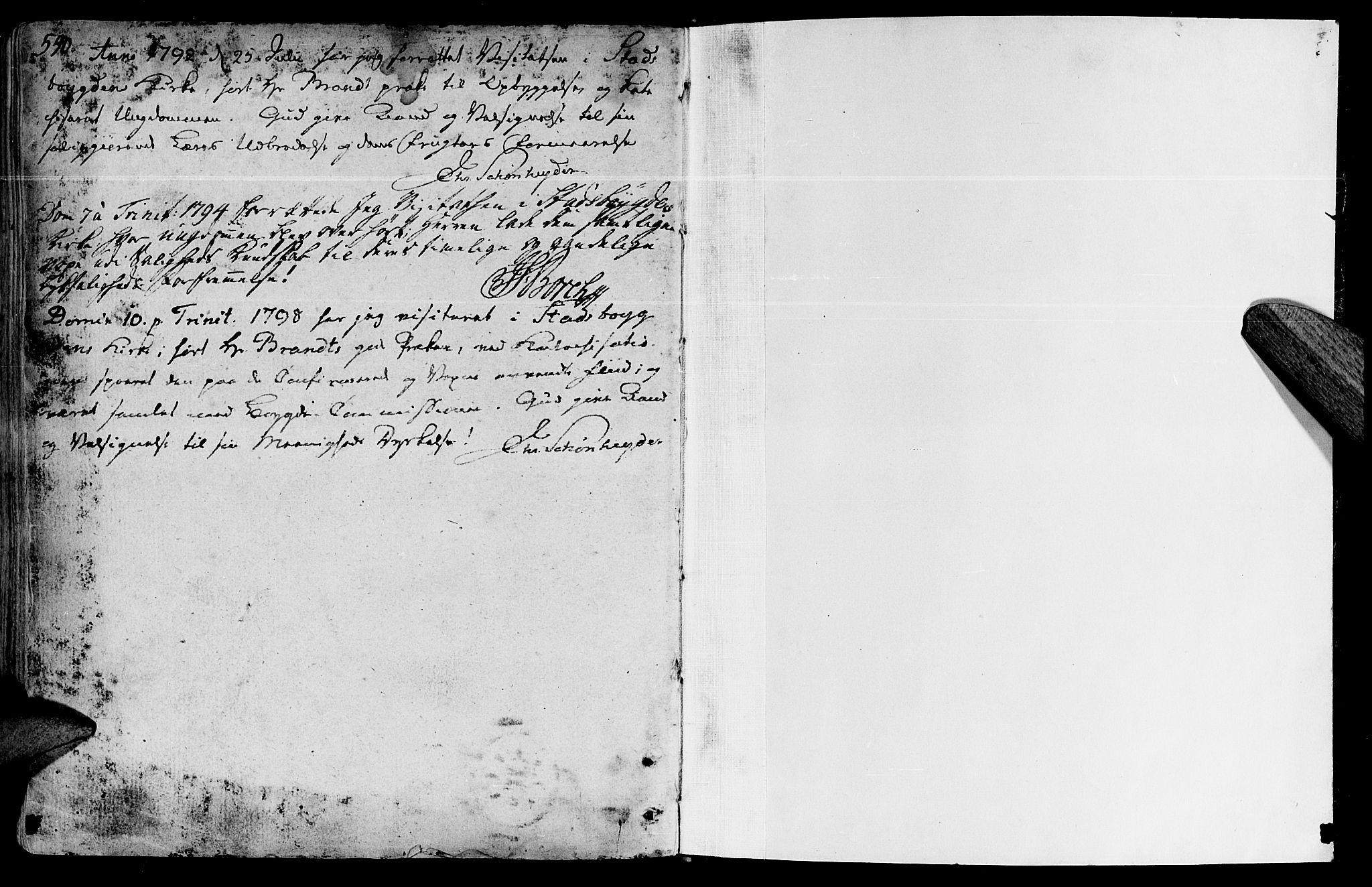 SAT, Ministerialprotokoller, klokkerbøker og fødselsregistre - Sør-Trøndelag, 646/L0606: Ministerialbok nr. 646A04, 1791-1805, s. 540-541
