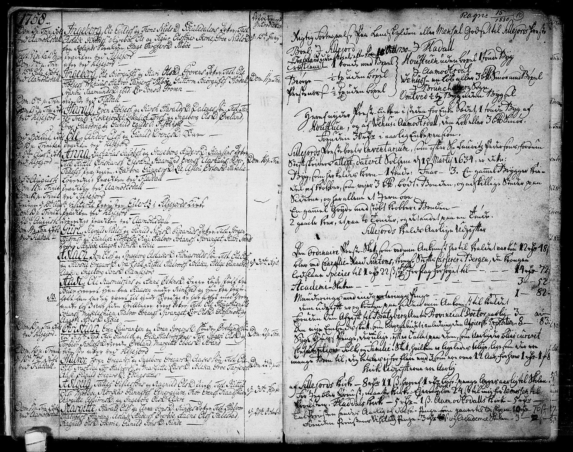 SAKO, Seljord kirkebøker, F/Fa/L0007: Ministerialbok nr. I 7, 1755-1800, s. 10