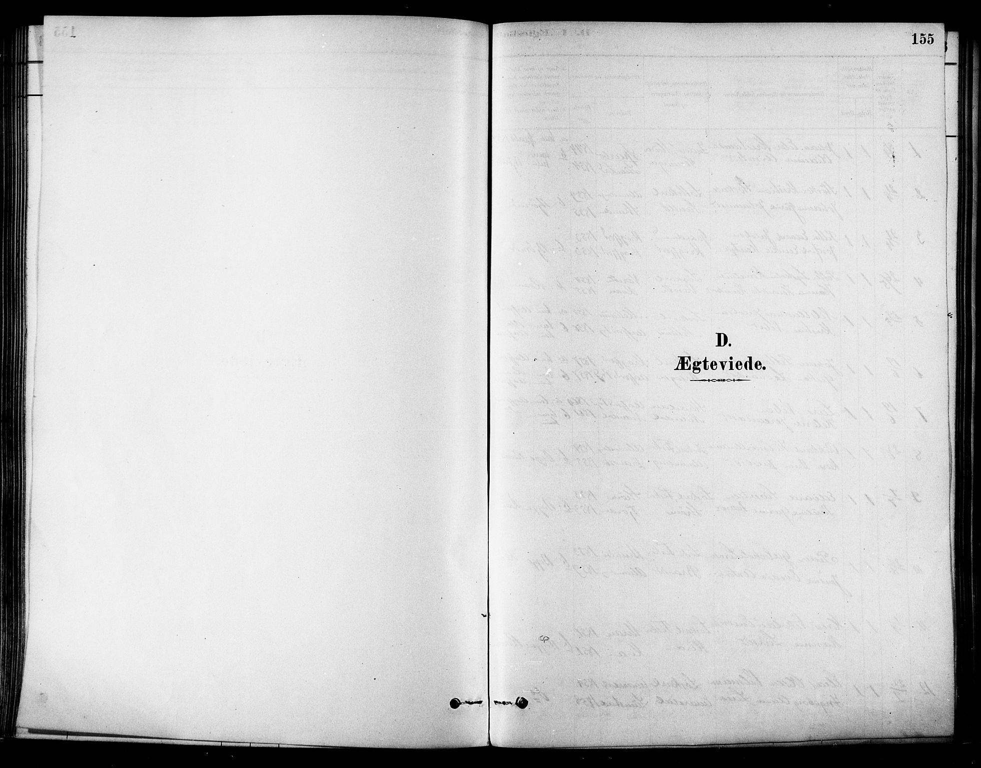 SAT, Ministerialprotokoller, klokkerbøker og fødselsregistre - Sør-Trøndelag, 657/L0707: Ministerialbok nr. 657A08, 1879-1893, s. 155