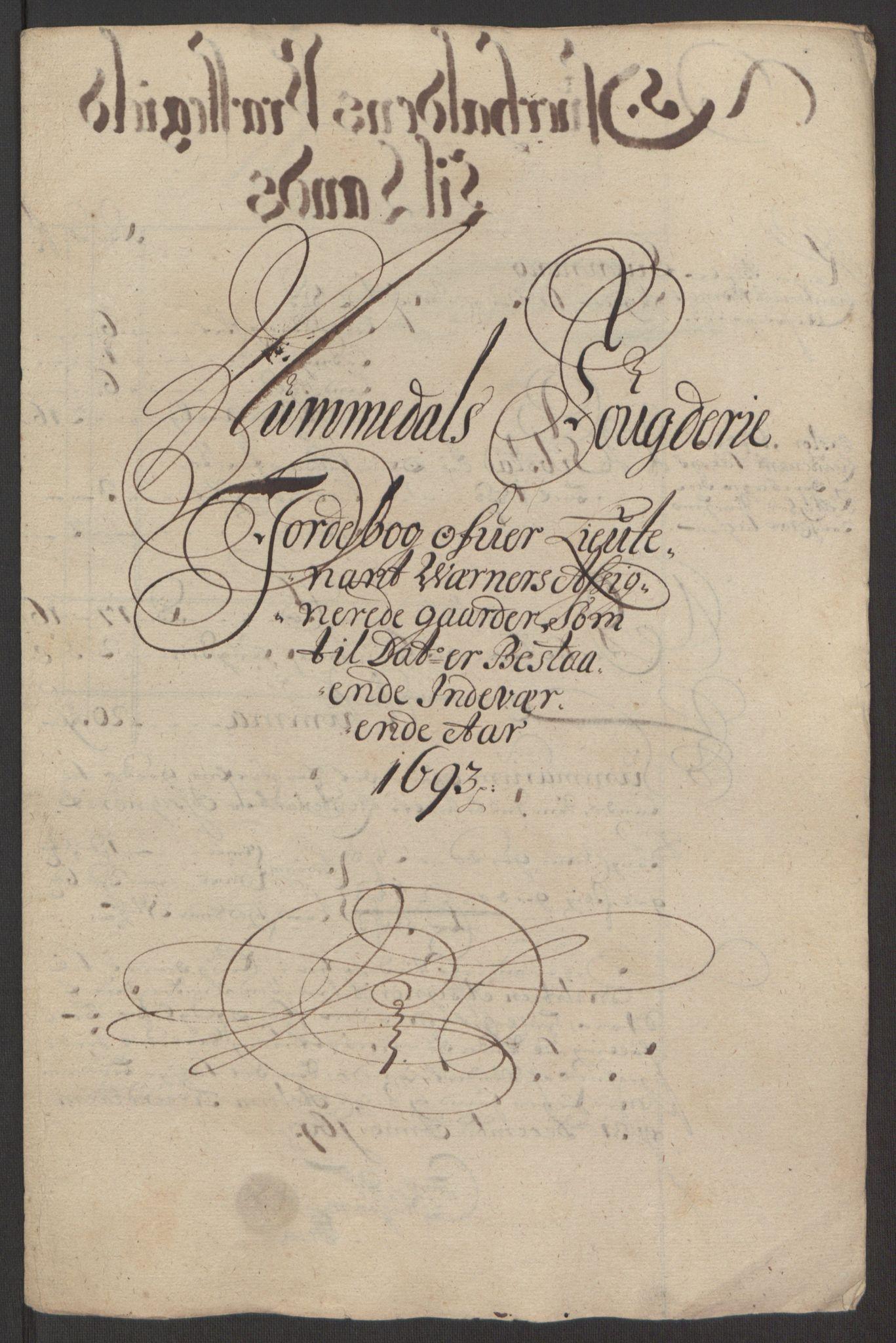 RA, Rentekammeret inntil 1814, Reviderte regnskaper, Fogderegnskap, R64/L4424: Fogderegnskap Namdal, 1692-1695, s. 319