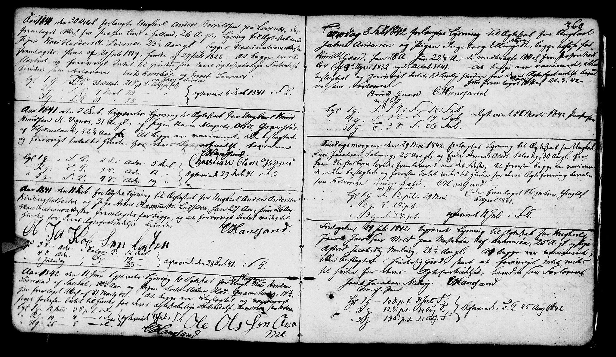 SAST, Finnøy sokneprestkontor, H/Ha/Haa/L0005: Ministerialbok nr. A 5, 1773-1816, s. 360