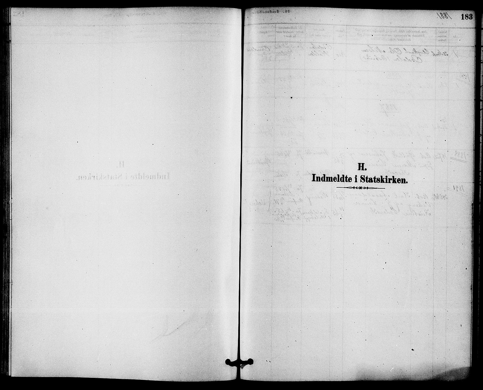 SAKO, Solum kirkebøker, F/Fb/L0001: Ministerialbok nr. II 1, 1877-1892, s. 183