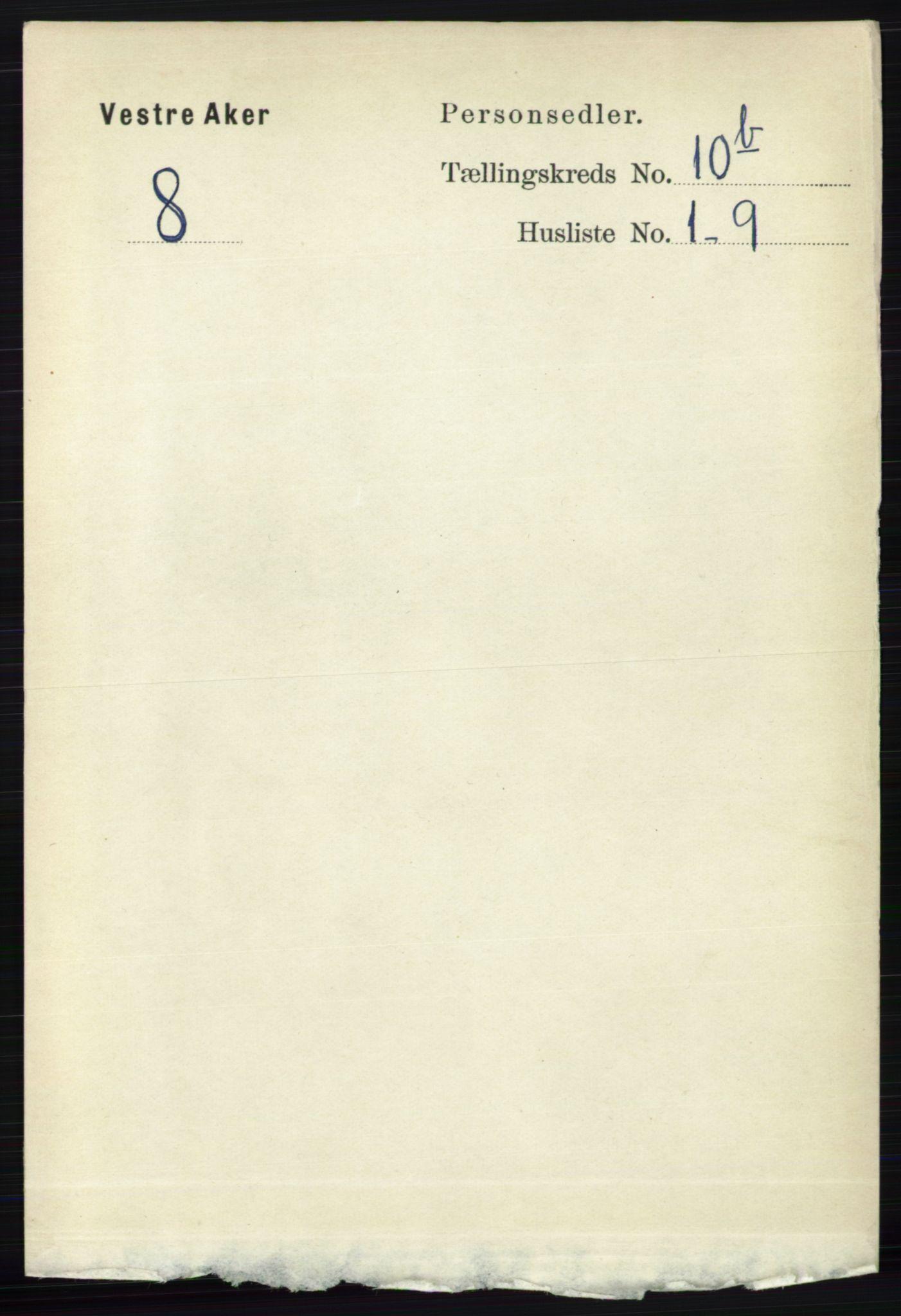 RA, Folketelling 1891 for 0218 Aker herred, 1891, s. 9586