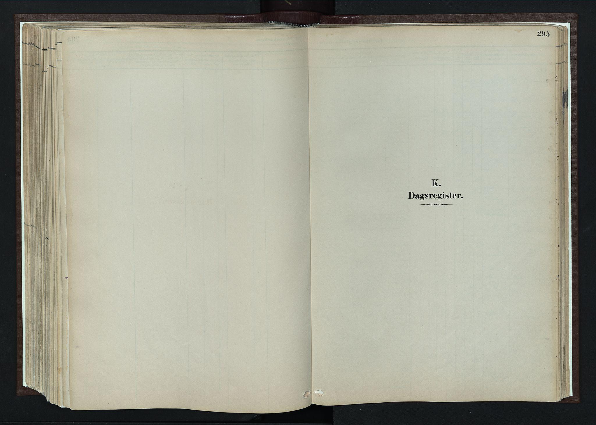 SAH, Nord-Fron prestekontor, Ministerialbok nr. 4, 1884-1914, s. 295