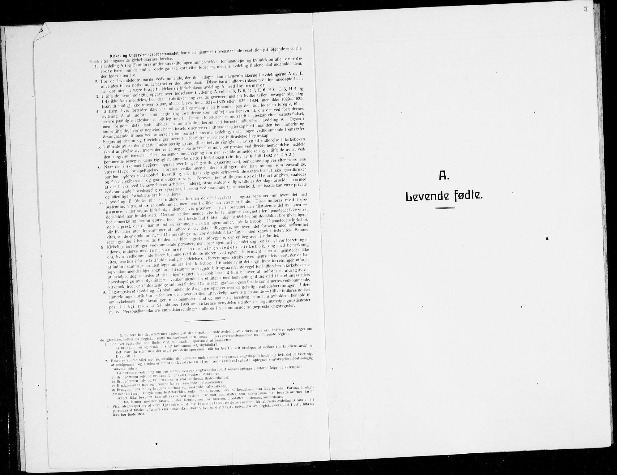 SAB, Finnås sokneprestembete, H/Ha/Hab/Haba/L0005: Klokkerbok nr. A 5, 1924-1945, s. 3