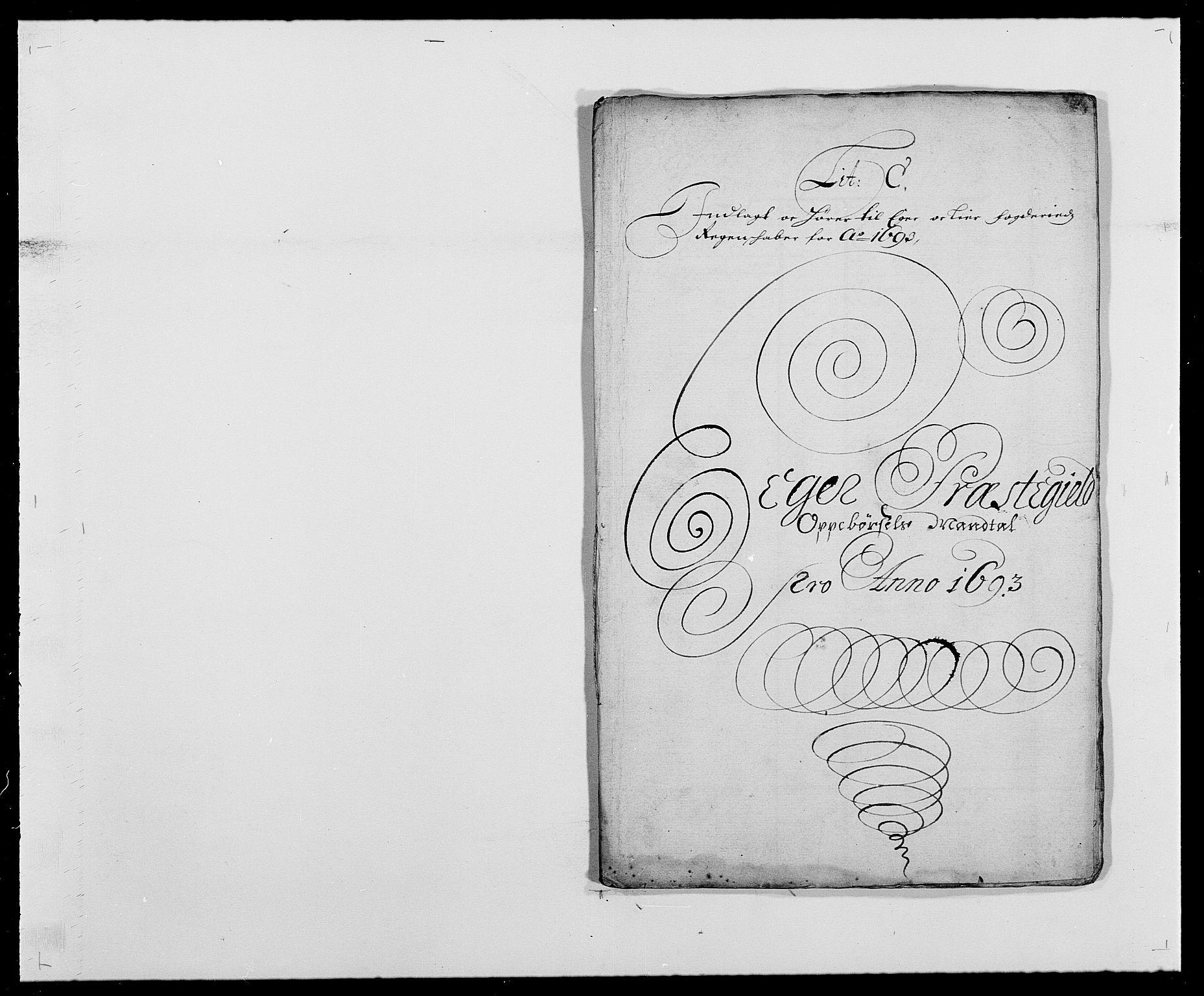 RA, Rentekammeret inntil 1814, Reviderte regnskaper, Fogderegnskap, R28/L1690: Fogderegnskap Eiker og Lier, 1692-1693, s. 146