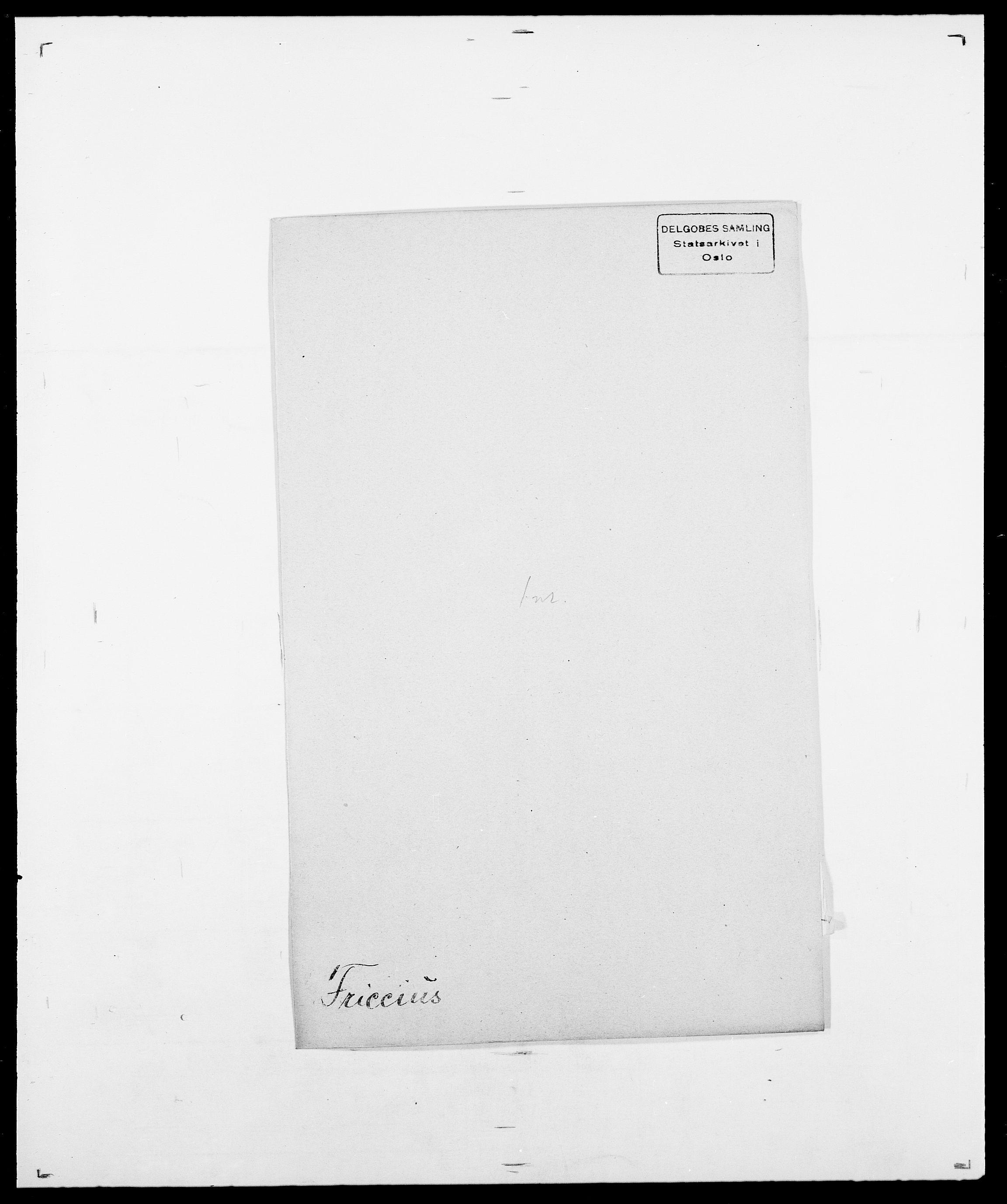SAO, Delgobe, Charles Antoine - samling, D/Da/L0012: Flor, Floer, Flohr - Fritzner, s. 762