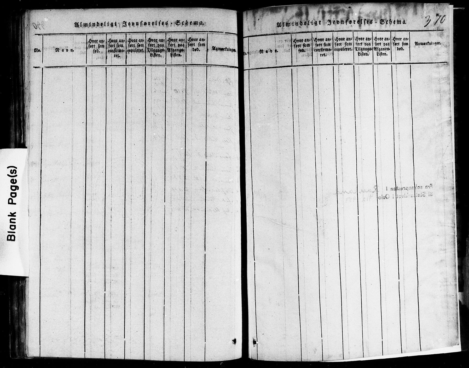 SAKO, Rauland kirkebøker, F/Fa/L0002: Ministerialbok nr. 2, 1815-1860, s. 370
