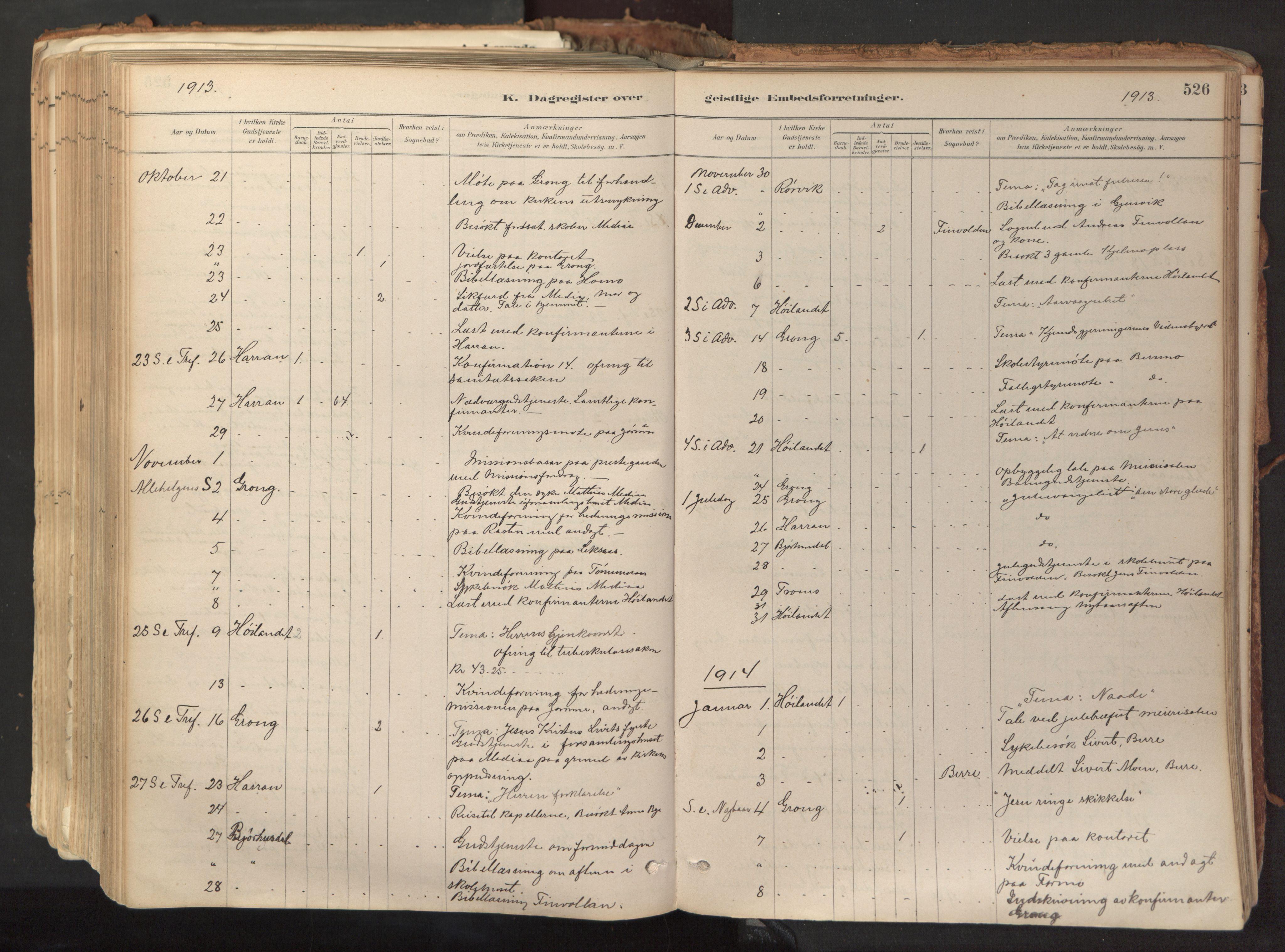 SAT, Ministerialprotokoller, klokkerbøker og fødselsregistre - Nord-Trøndelag, 758/L0519: Ministerialbok nr. 758A04, 1880-1926, s. 526
