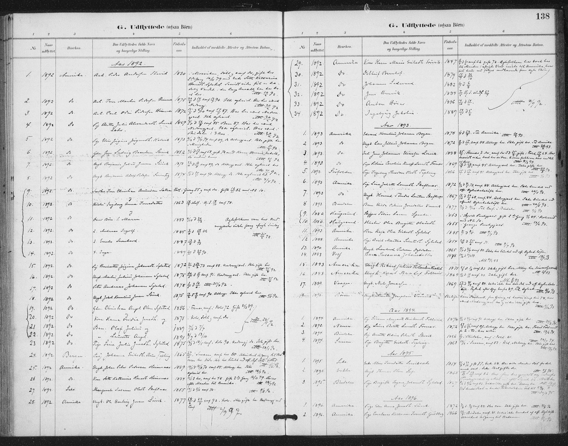 SAT, Ministerialprotokoller, klokkerbøker og fødselsregistre - Nord-Trøndelag, 783/L0660: Ministerialbok nr. 783A02, 1886-1918, s. 138