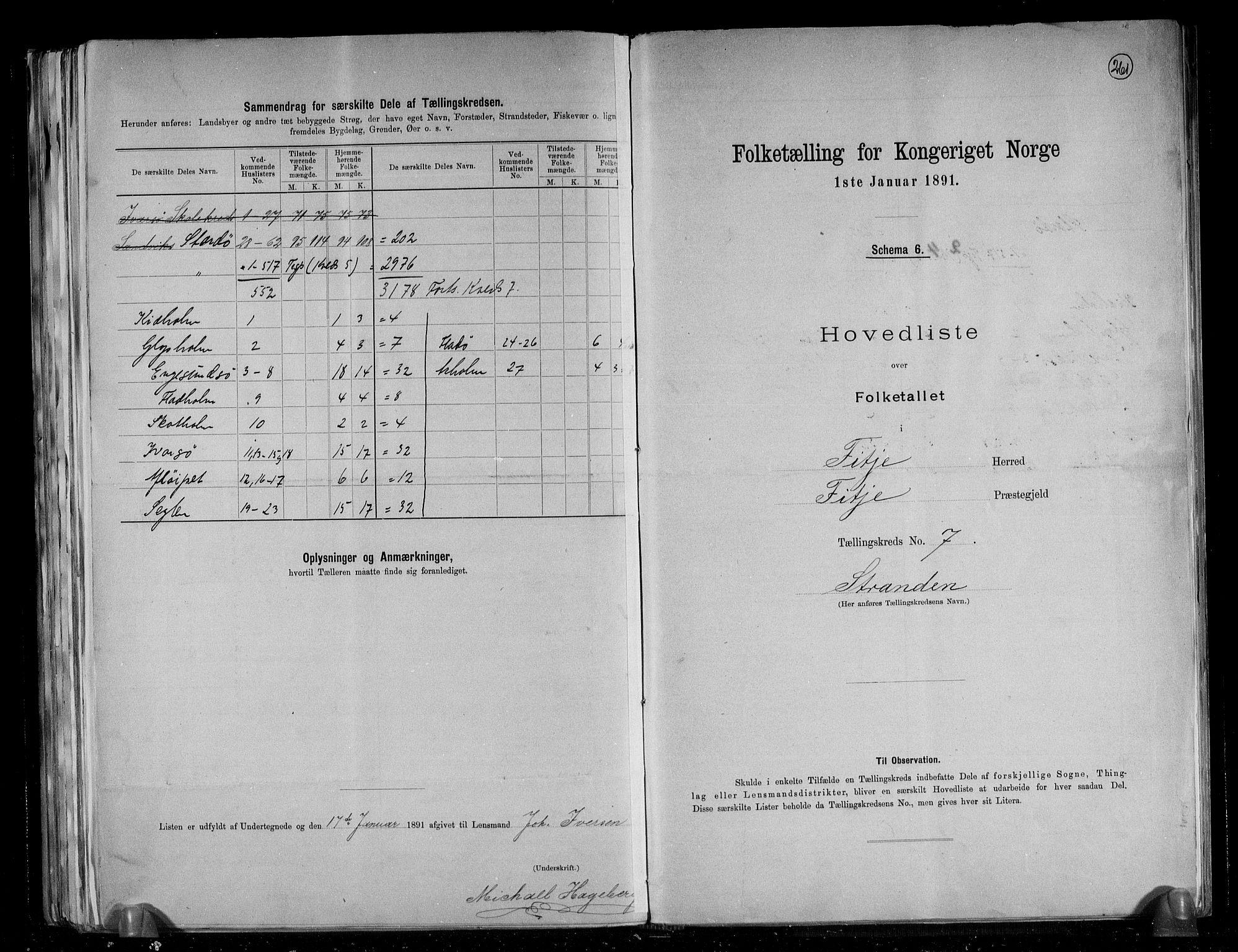 RA, Folketelling 1891 for 1222 Fitjar herred, 1891, s. 16