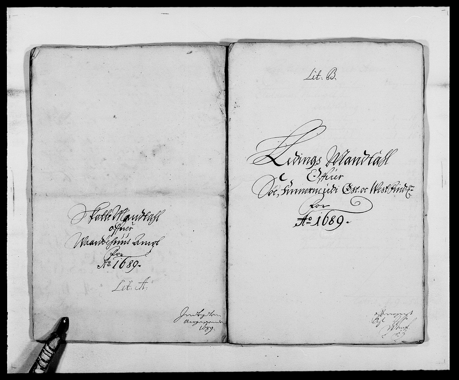 RA, Rentekammeret inntil 1814, Reviderte regnskaper, Fogderegnskap, R69/L4850: Fogderegnskap Finnmark/Vardøhus, 1680-1690, s. 135