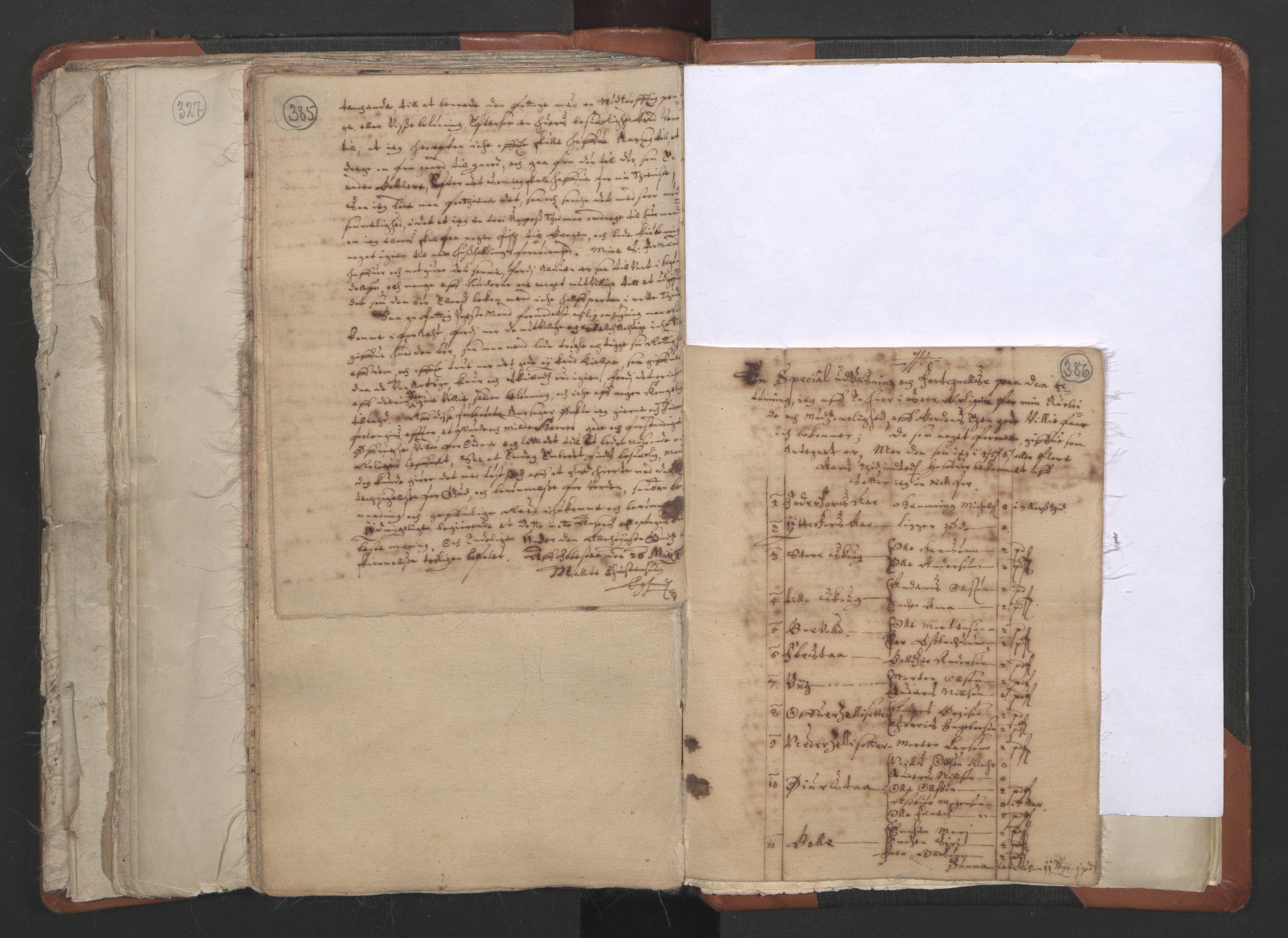 RA, Sogneprestenes manntall 1664-1666, nr. 36: Lofoten og Vesterålen prosti, Senja prosti og Troms prosti, 1664-1666, s. 385-386