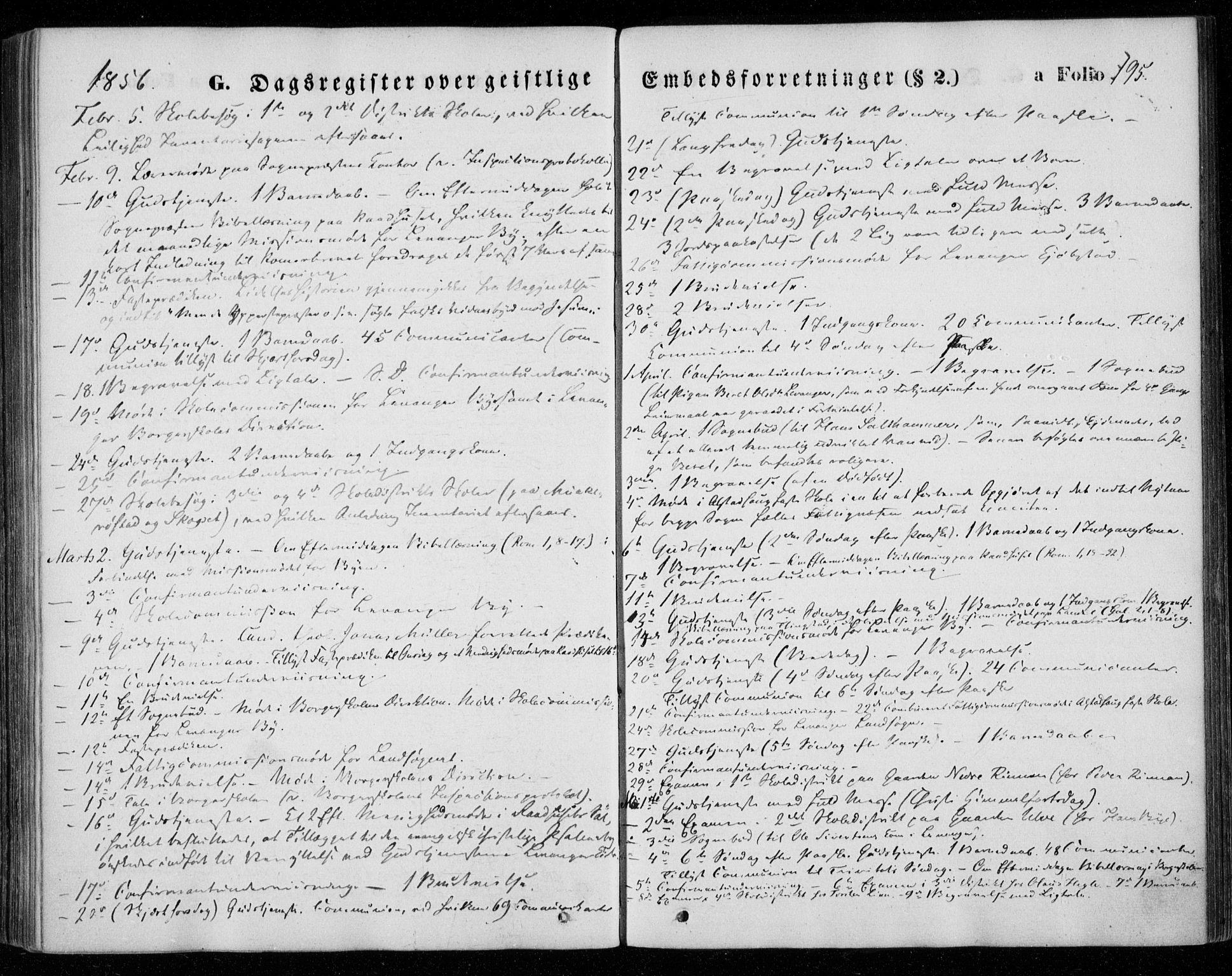 SAT, Ministerialprotokoller, klokkerbøker og fødselsregistre - Nord-Trøndelag, 720/L0184: Ministerialbok nr. 720A02 /1, 1855-1863, s. 195