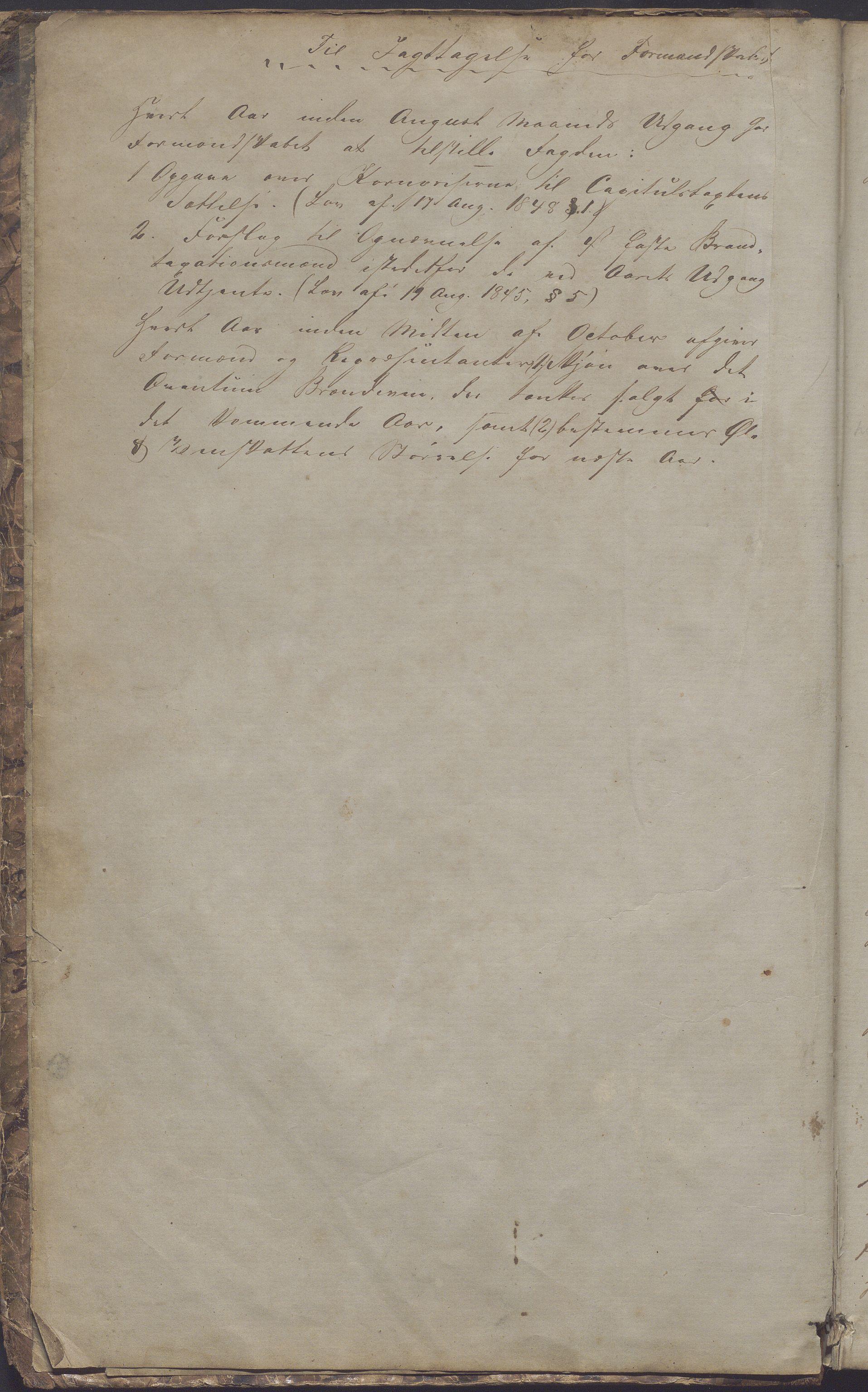 IKAR, Sogndal ladested - Formannskapet/kommunestyret, A/L0001: Møtebok, 1858-1887