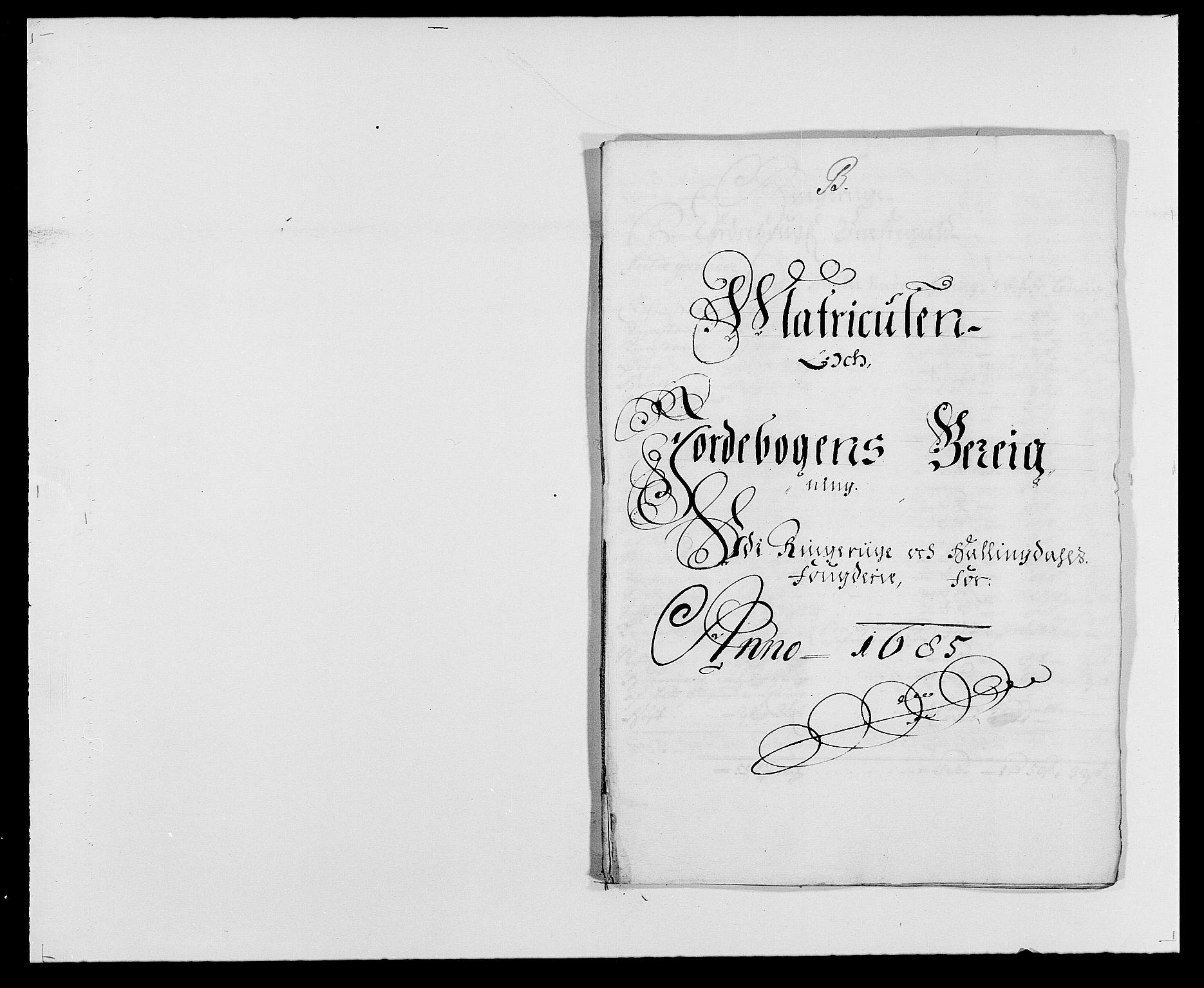 RA, Rentekammeret inntil 1814, Reviderte regnskaper, Fogderegnskap, R21/L1446: Fogderegnskap Ringerike og Hallingdal, 1683-1686, s. 295