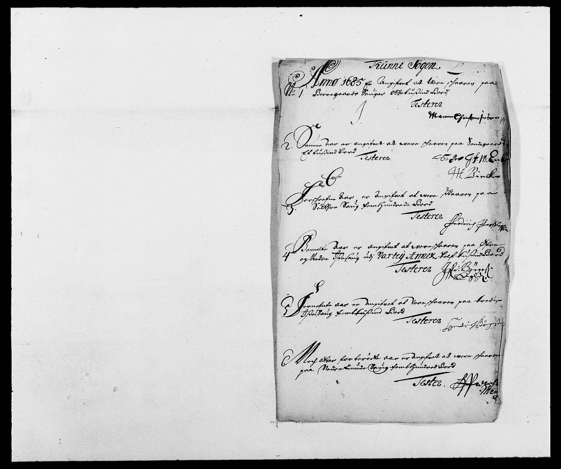 RA, Rentekammeret inntil 1814, Reviderte regnskaper, Fogderegnskap, R03/L0116: Fogderegnskap Onsøy, Tune, Veme og Åbygge fogderi, 1684-1689, s. 103