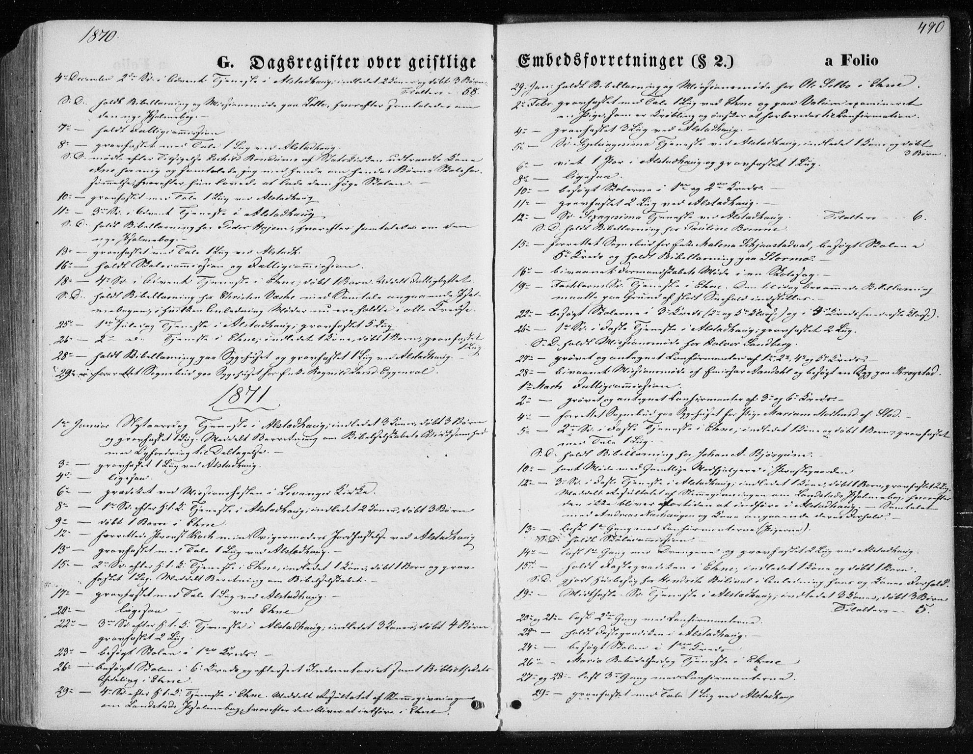 SAT, Ministerialprotokoller, klokkerbøker og fødselsregistre - Nord-Trøndelag, 717/L0157: Ministerialbok nr. 717A08 /1, 1863-1877, s. 490