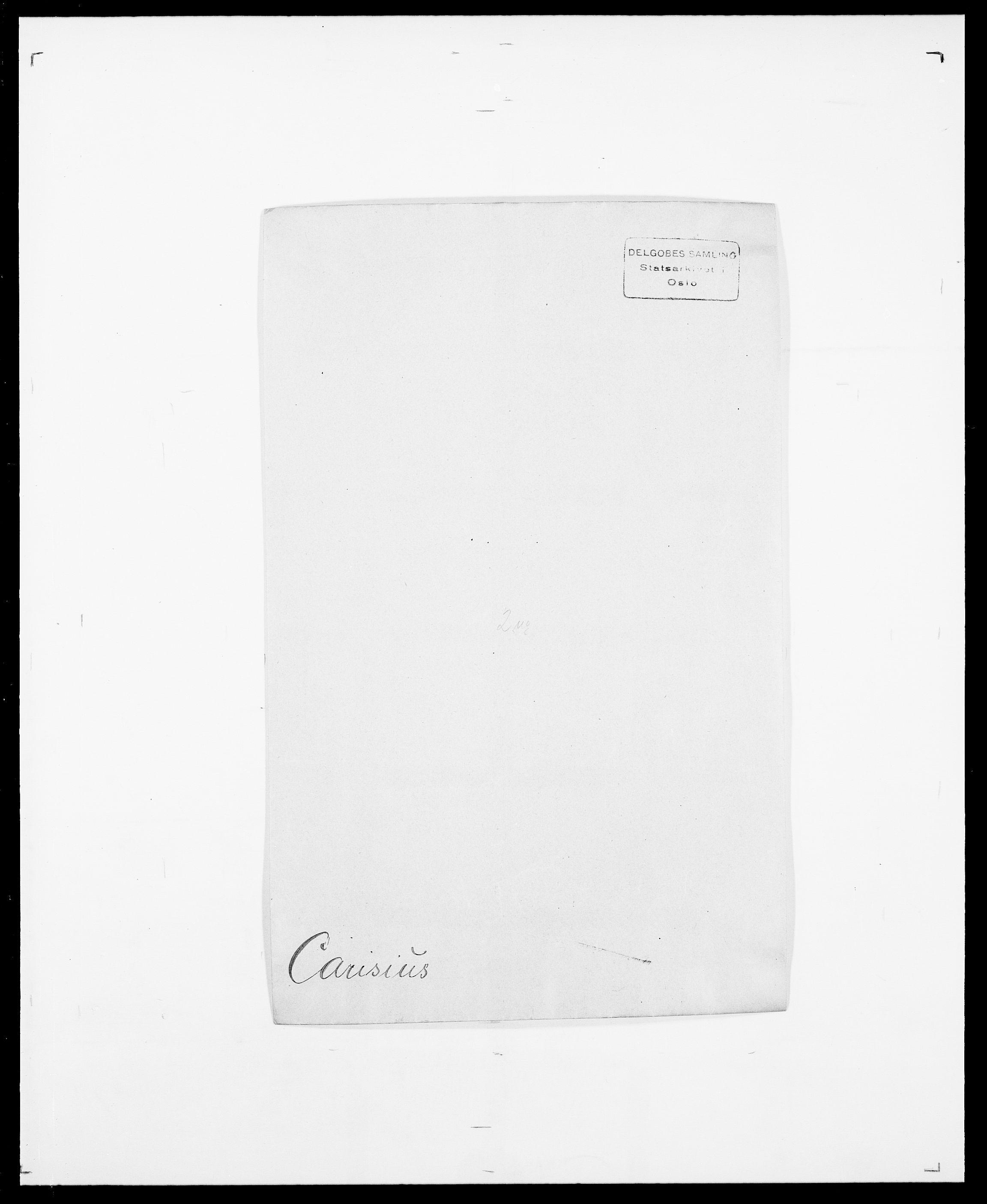 SAO, Delgobe, Charles Antoine - samling, D/Da/L0008: Capjon - Dagenbolt, s. 35