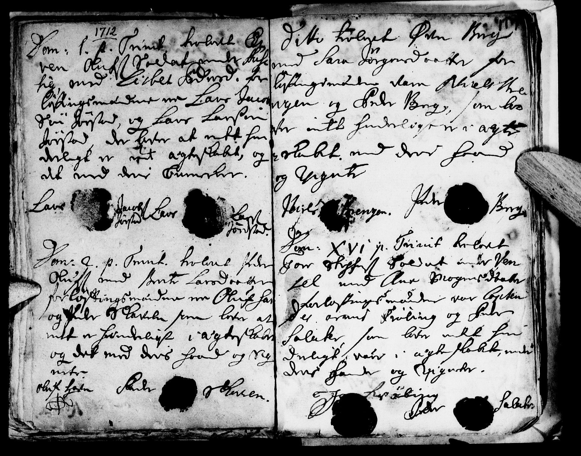 SAT, Ministerialprotokoller, klokkerbøker og fødselsregistre - Nord-Trøndelag, 722/L0214: Ministerialbok nr. 722A01, 1692-1718, s. 117