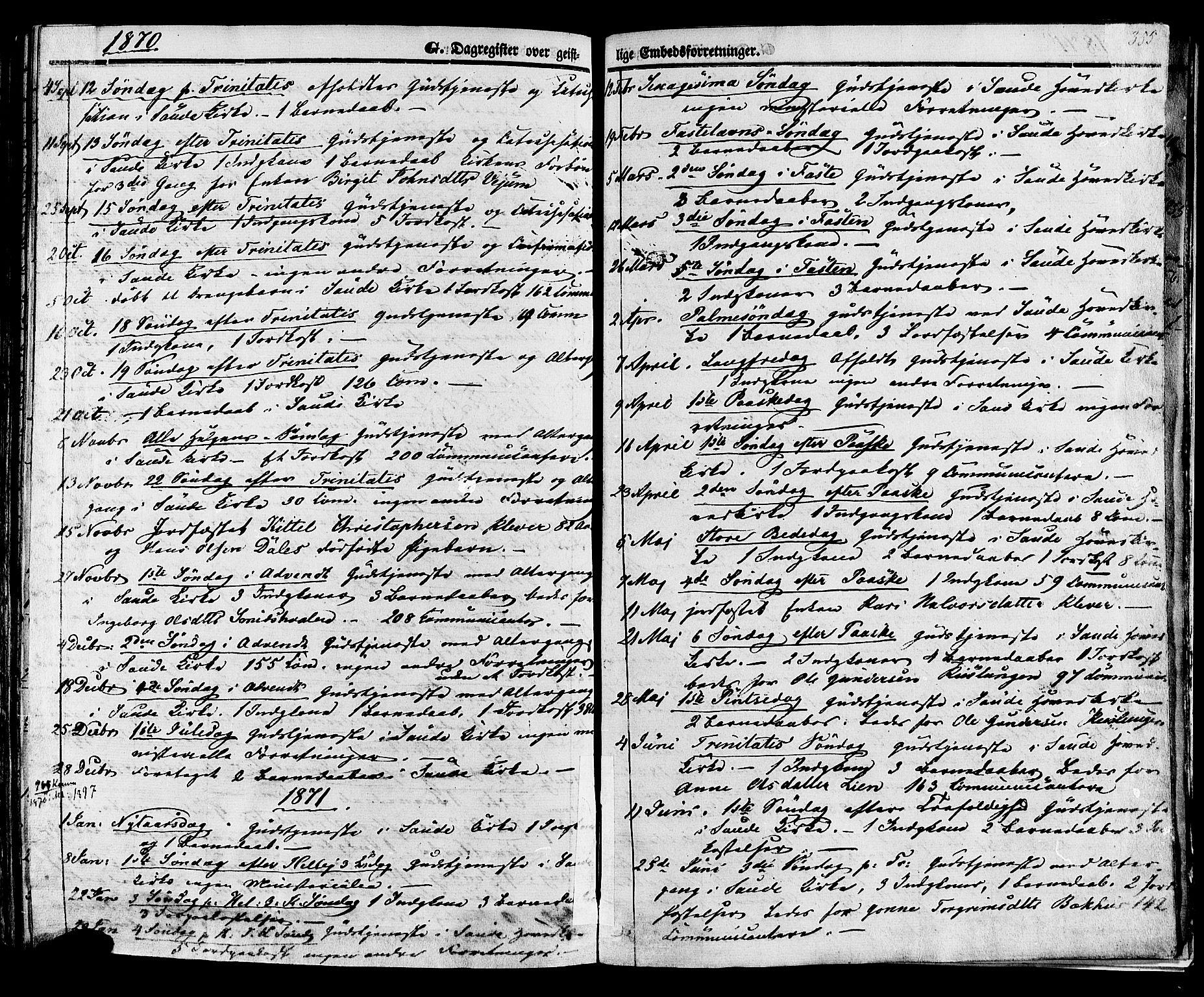 SAKO, Sauherad kirkebøker, F/Fa/L0007: Ministerialbok nr. I 7, 1851-1873, s. 355