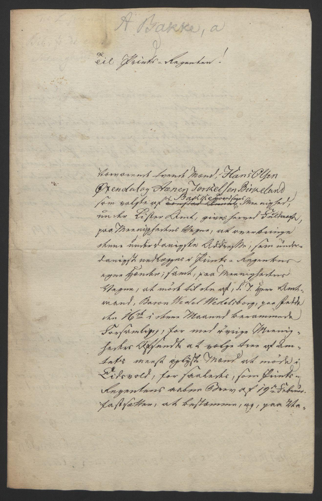 RA, Statsrådssekretariatet, D/Db/L0008: Fullmakter for Eidsvollsrepresentantene i 1814. , 1814, s. 151