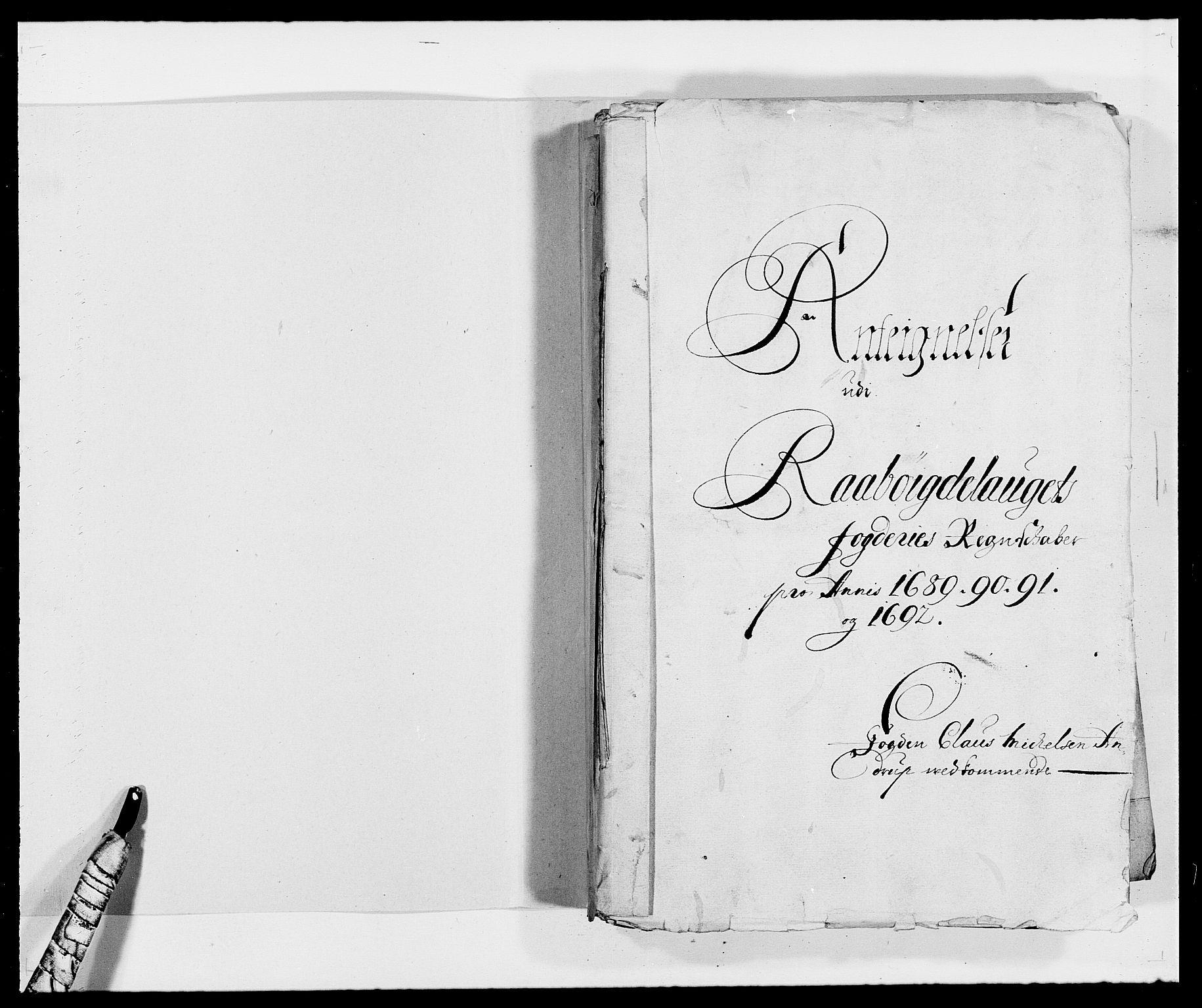 RA, Rentekammeret inntil 1814, Reviderte regnskaper, Fogderegnskap, R40/L2443: Fogderegnskap Råbyggelag, 1691-1692, s. 198
