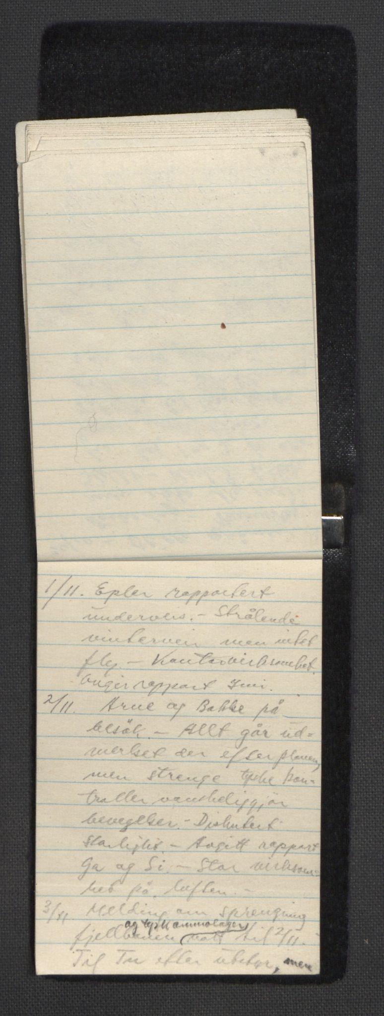 RA, Tronstad, Leif, F/L0001: Dagbøker, 1941-1945, s. 796