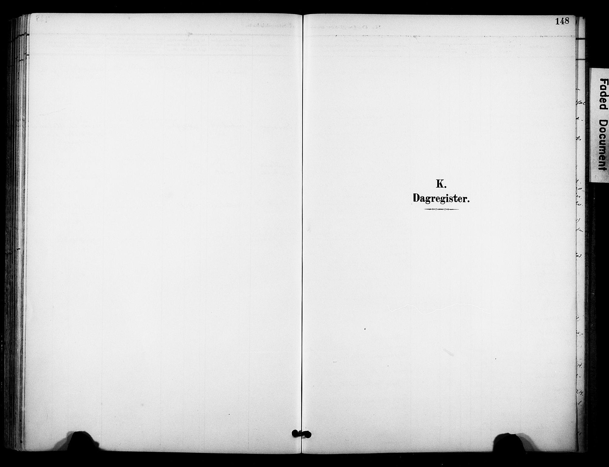 SAKO, Bø kirkebøker, F/Fa/L0011: Ministerialbok nr. 11, 1892-1900, s. 148