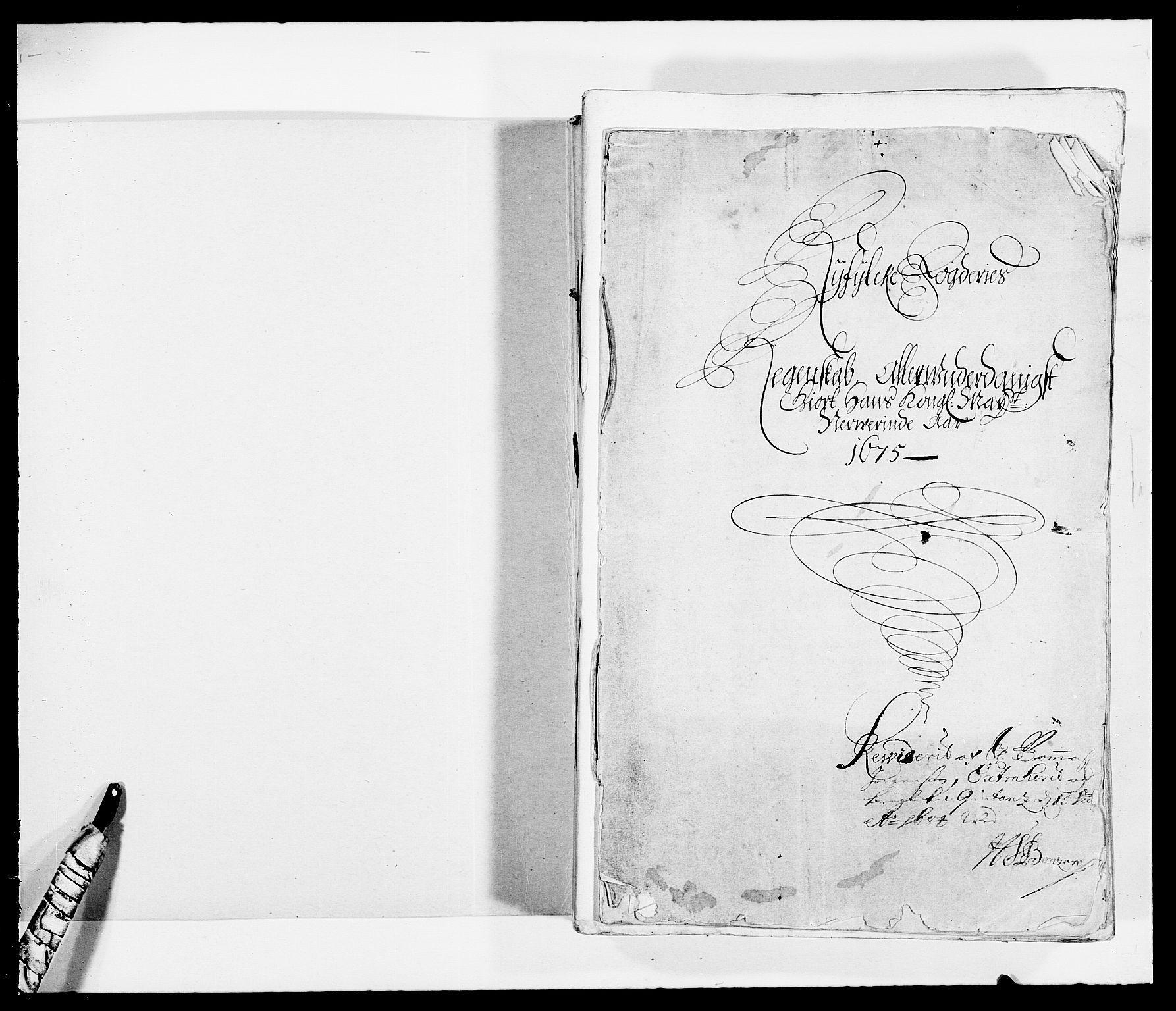 RA, Rentekammeret inntil 1814, Reviderte regnskaper, Fogderegnskap, R47/L2845: Fogderegnskap Ryfylke, 1674-1675, s. 165