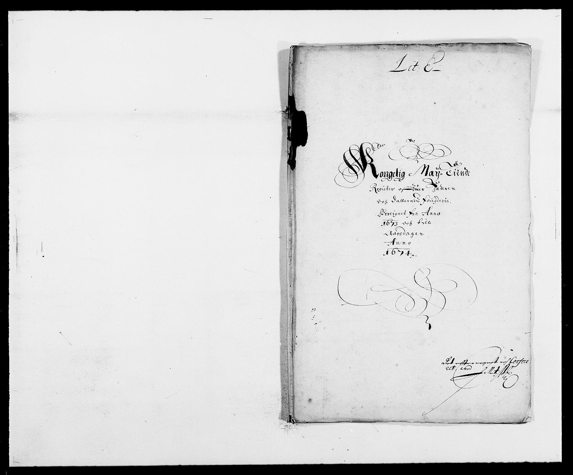 RA, Rentekammeret inntil 1814, Reviderte regnskaper, Fogderegnskap, R46/L2714: Fogderegnskap Jæren og Dalane, 1673-1674, s. 102