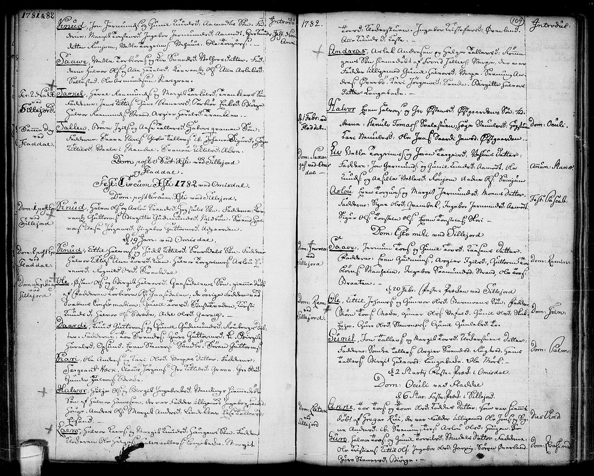 SAKO, Seljord kirkebøker, F/Fa/L0007: Ministerialbok nr. I 7, 1755-1800, s. 109